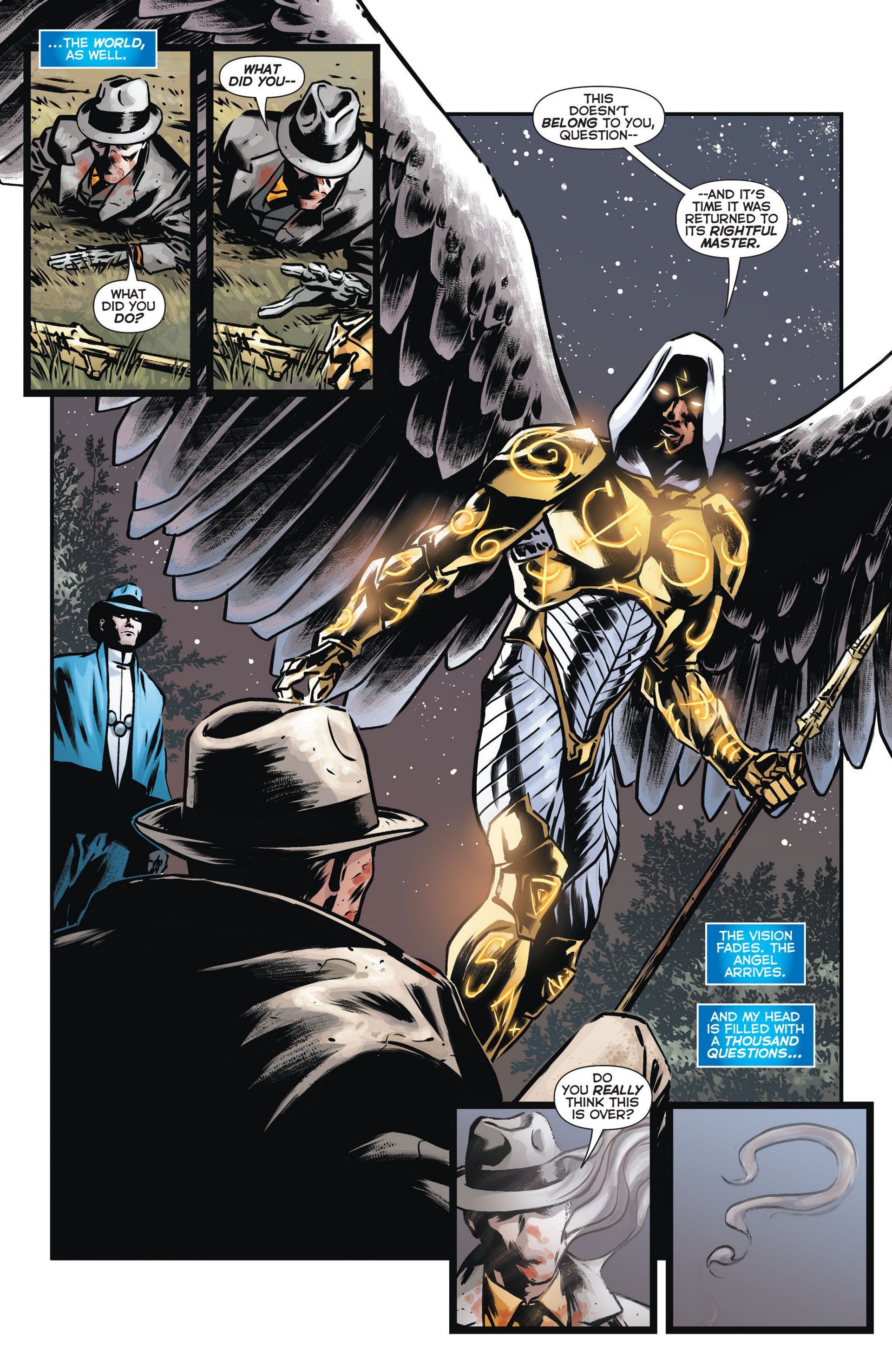 Read online Trinity of Sin: The Phantom Stranger comic -  Issue #13 - 18