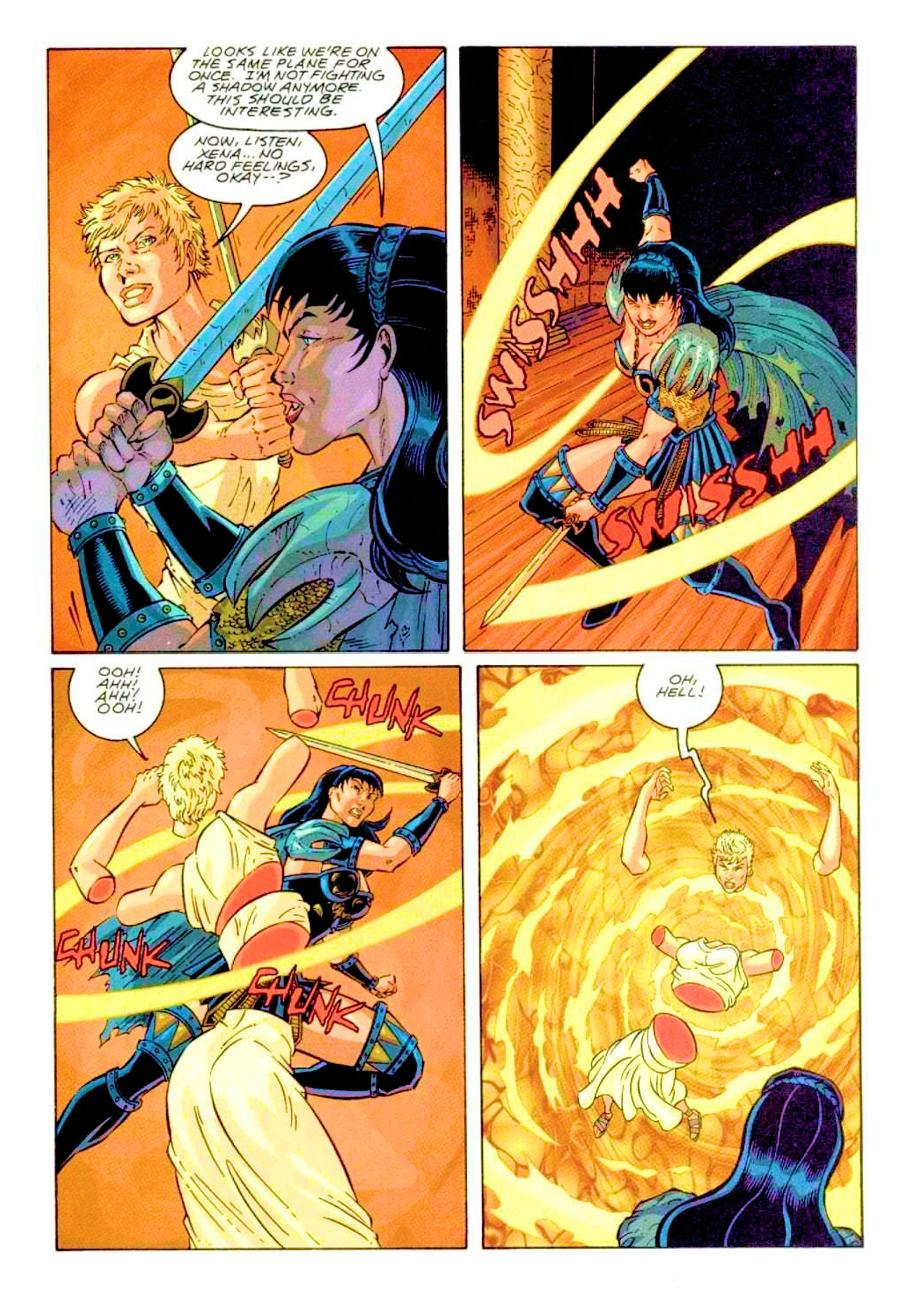Read online Xena: Warrior Princess (1999) comic -  Issue #2 - 23