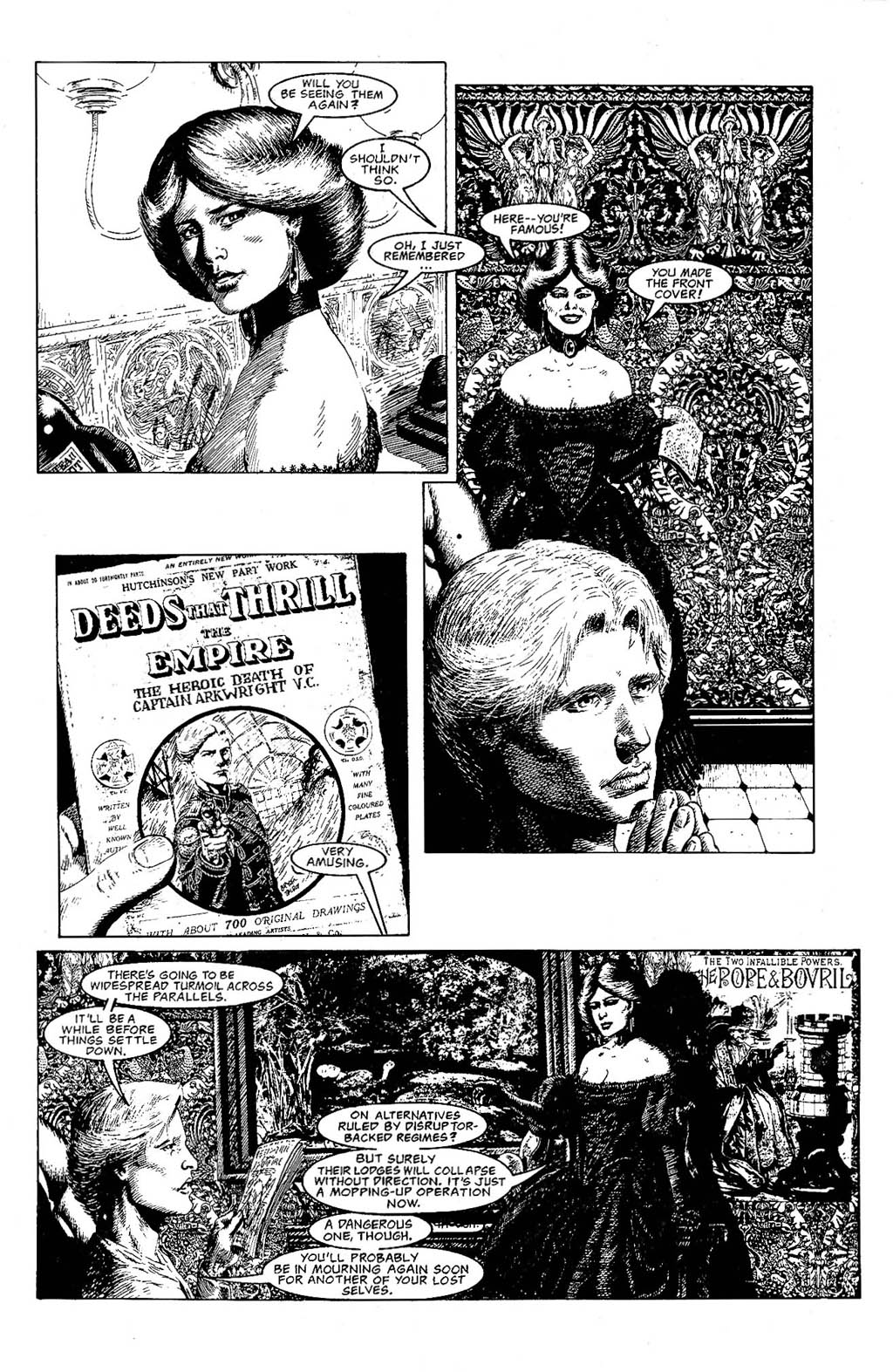 Read online The Adventures of Luther Arkwright comic -  Issue #9 - 25