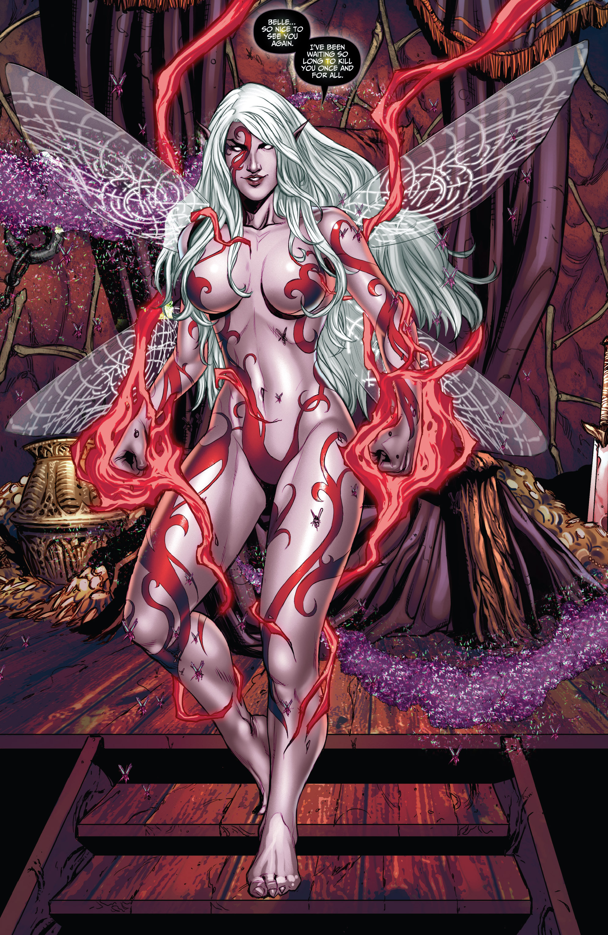 Read online Grimm Fairy Tales (2016) comic -  Issue #5 - 18