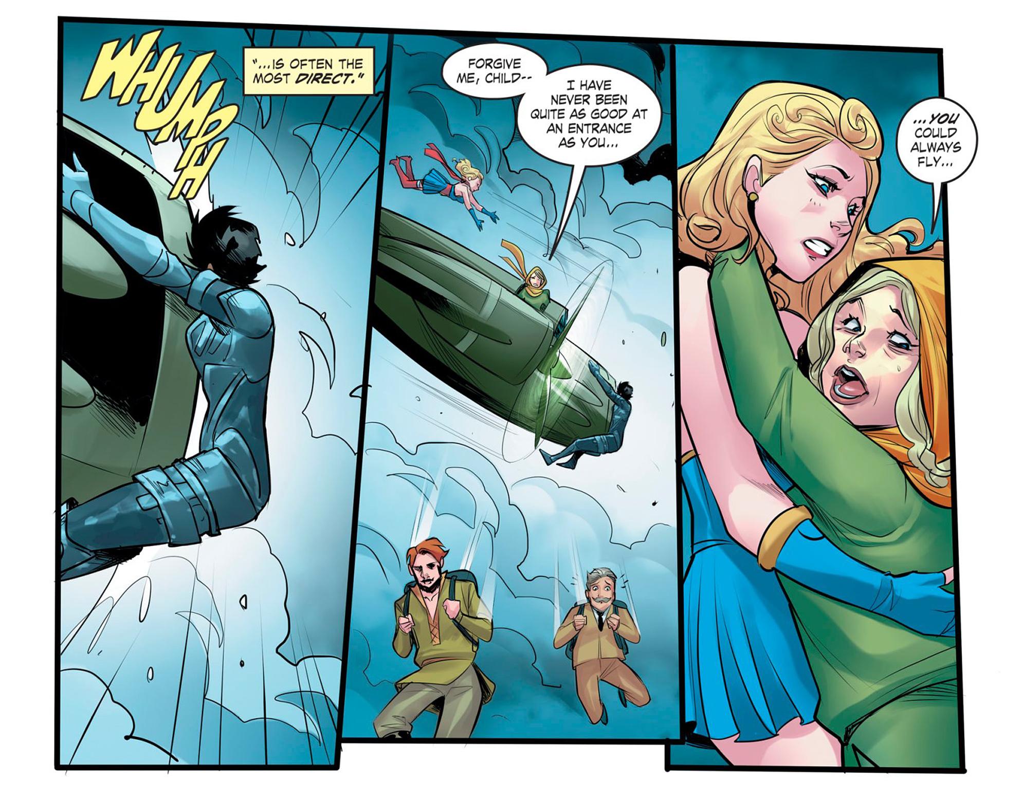Read online DC Comics: Bombshells comic -  Issue #95 - 5