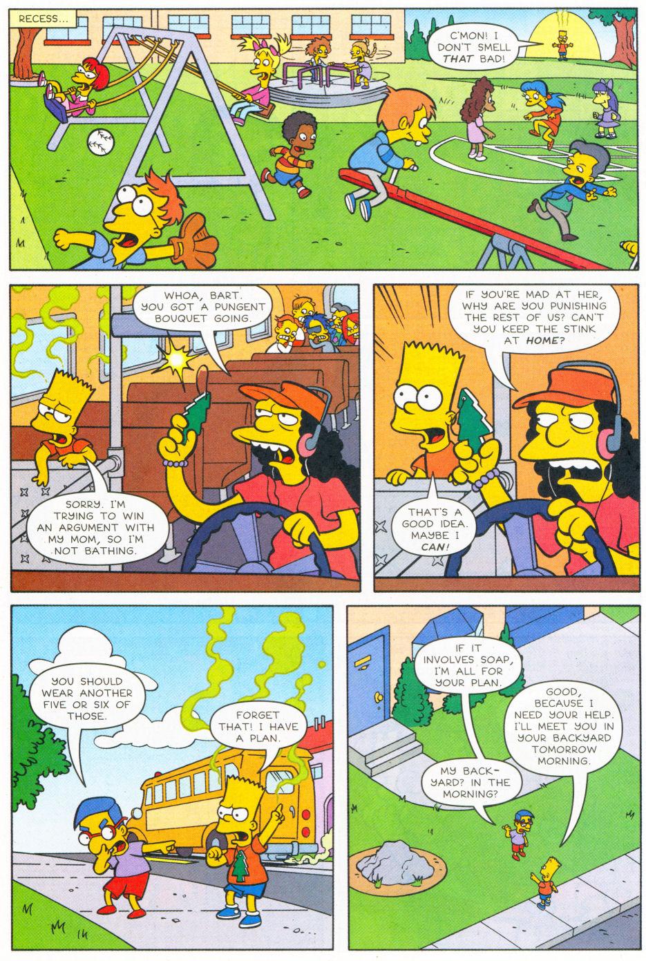 Read online Simpsons Comics Presents Bart Simpson comic -  Issue #26 - 26