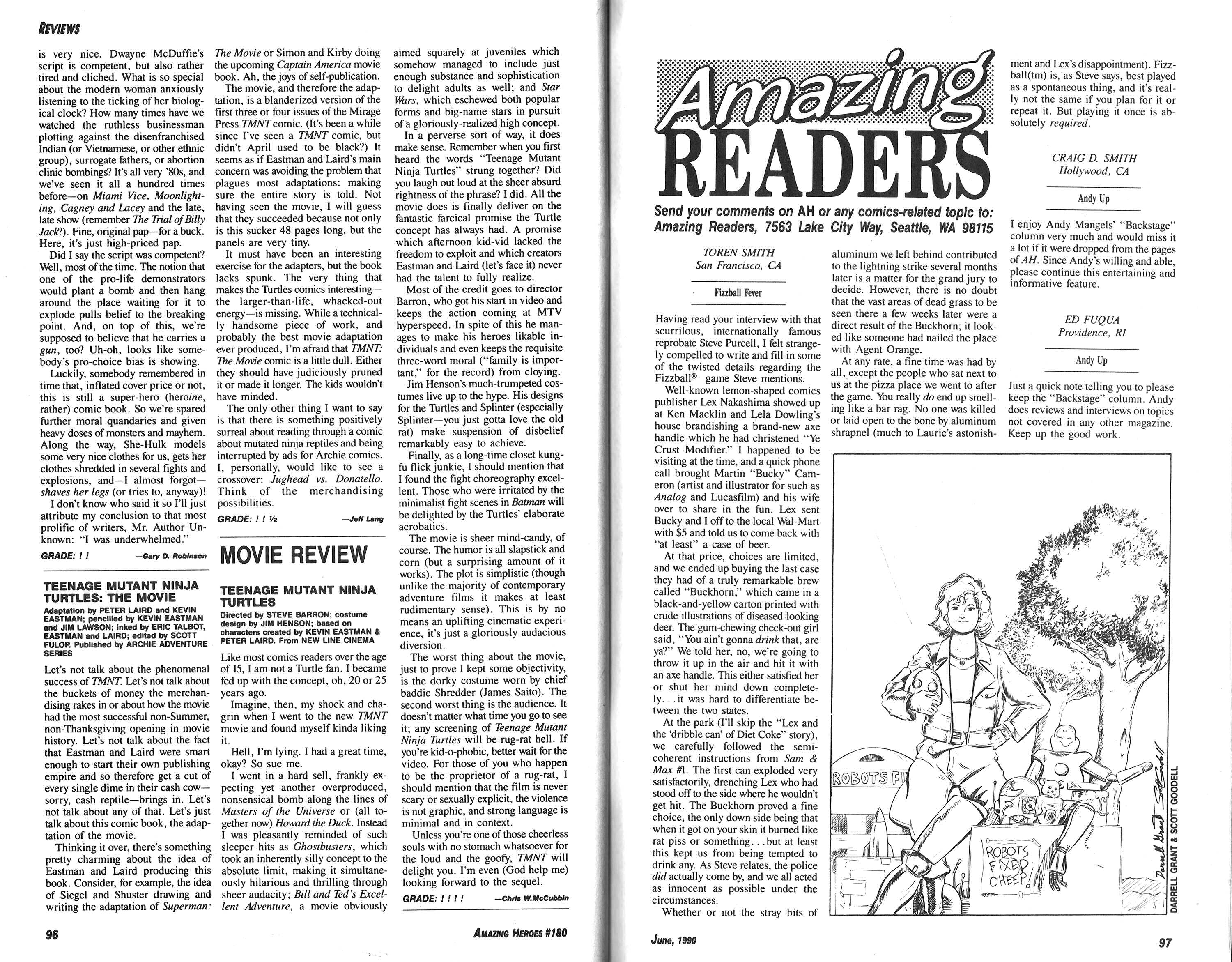 Read online Amazing Heroes comic -  Issue #180 - 49