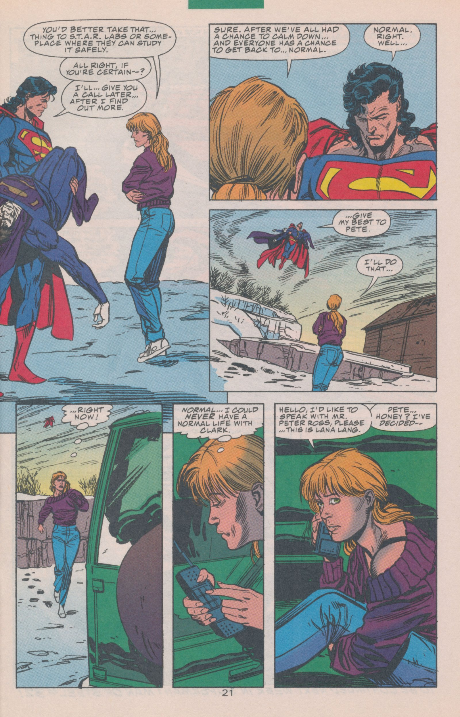 Read online Action Comics (1938) comic -  Issue #697 - 30