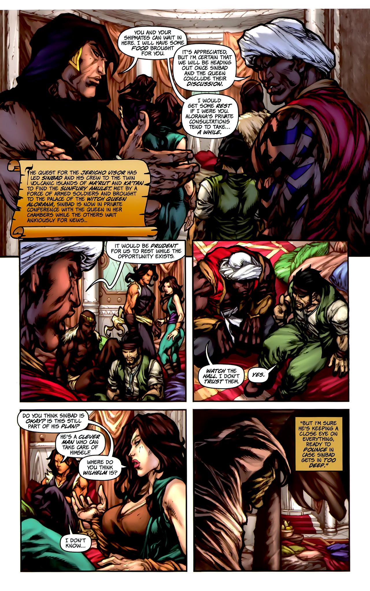 Read online 1001 Arabian Nights: The Adventures of Sinbad comic -  Issue #2 - 7