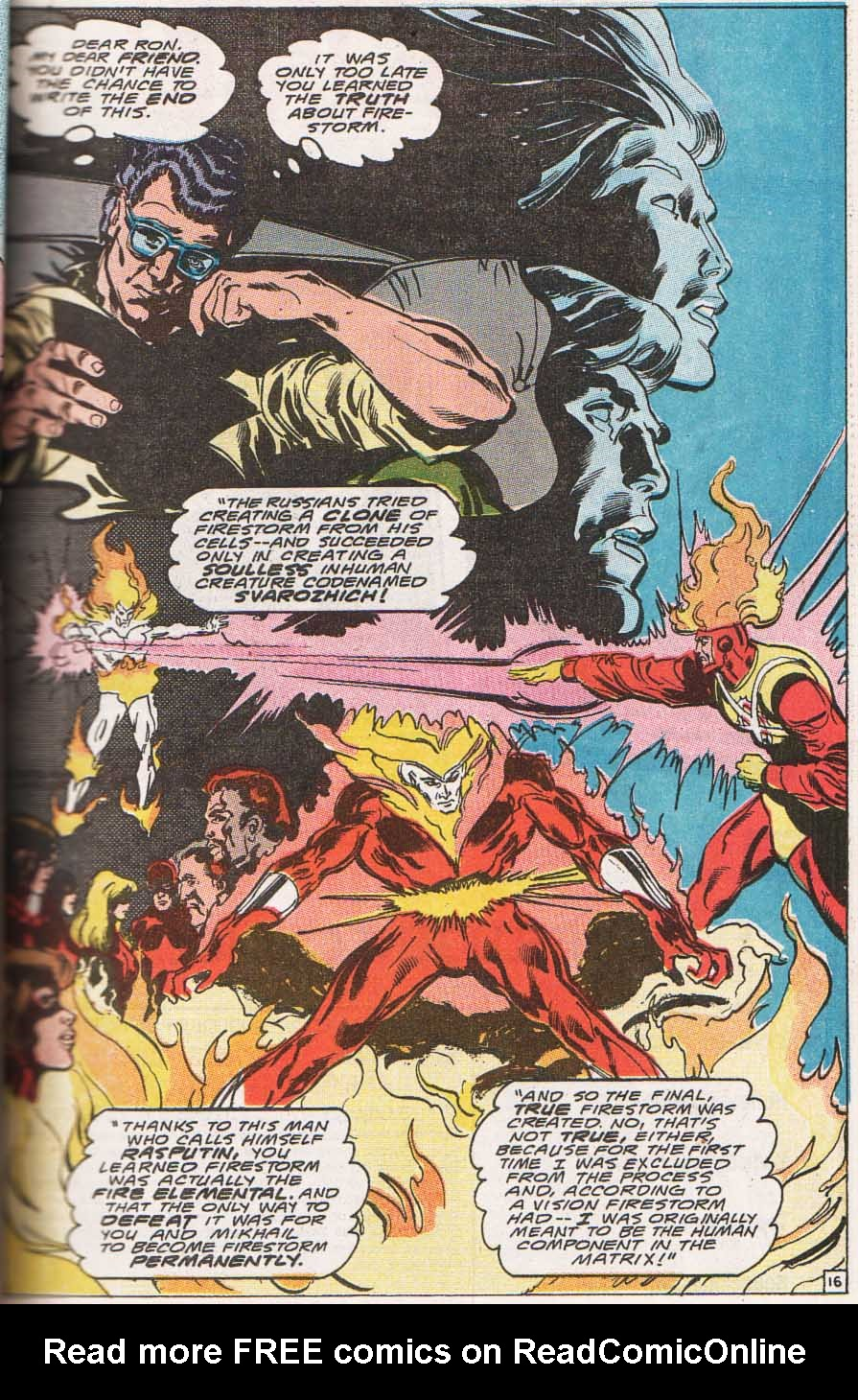 Firestorm, the Nuclear Man Issue #100 #36 - English 17