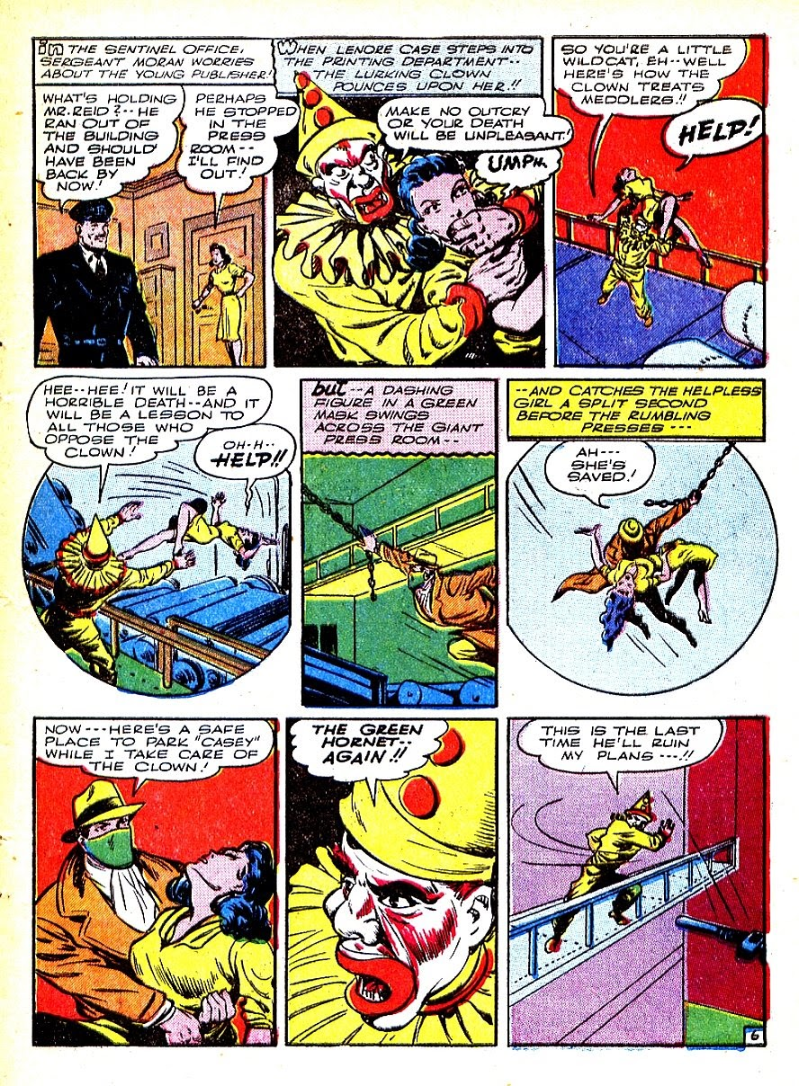 Green Hornet Comics issue 7 - Page 9