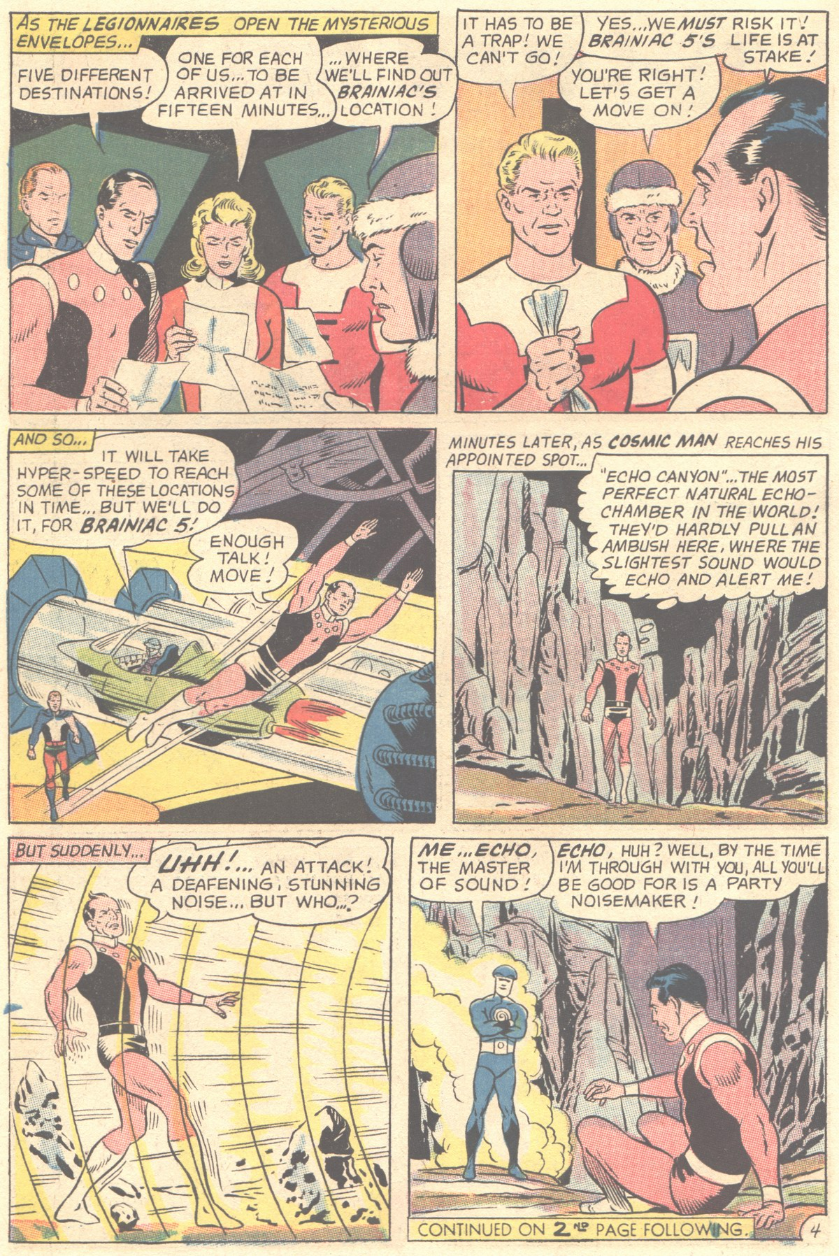 Read online Adventure Comics (1938) comic -  Issue #355 - 6