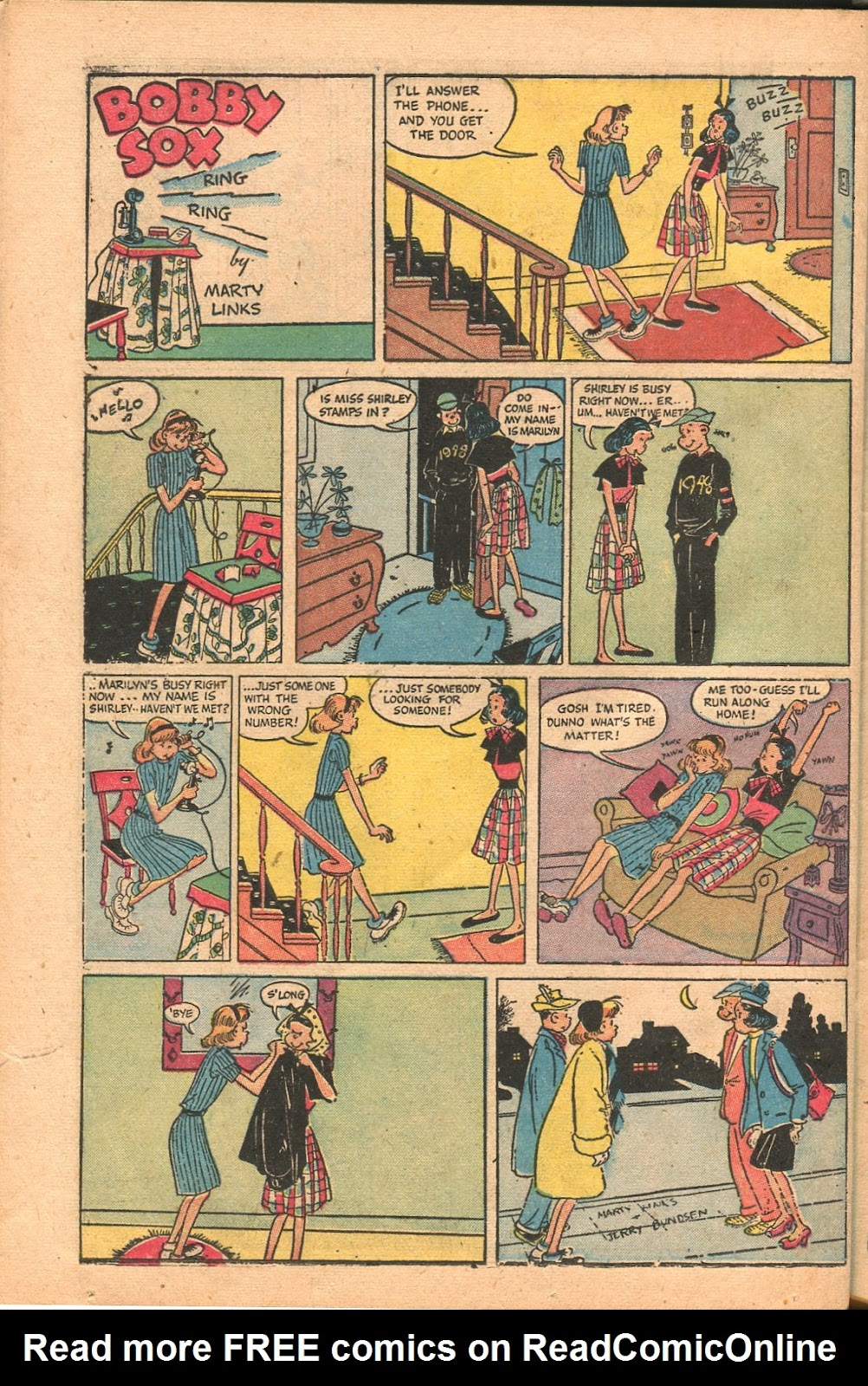 Read online Famous Funnies comic -  Issue #165 - 38