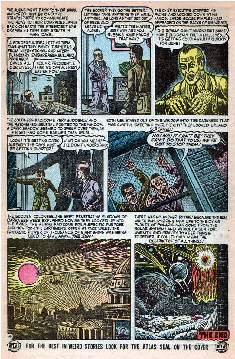 Read online Adventures into Weird Worlds comic -  Issue #27 - 23