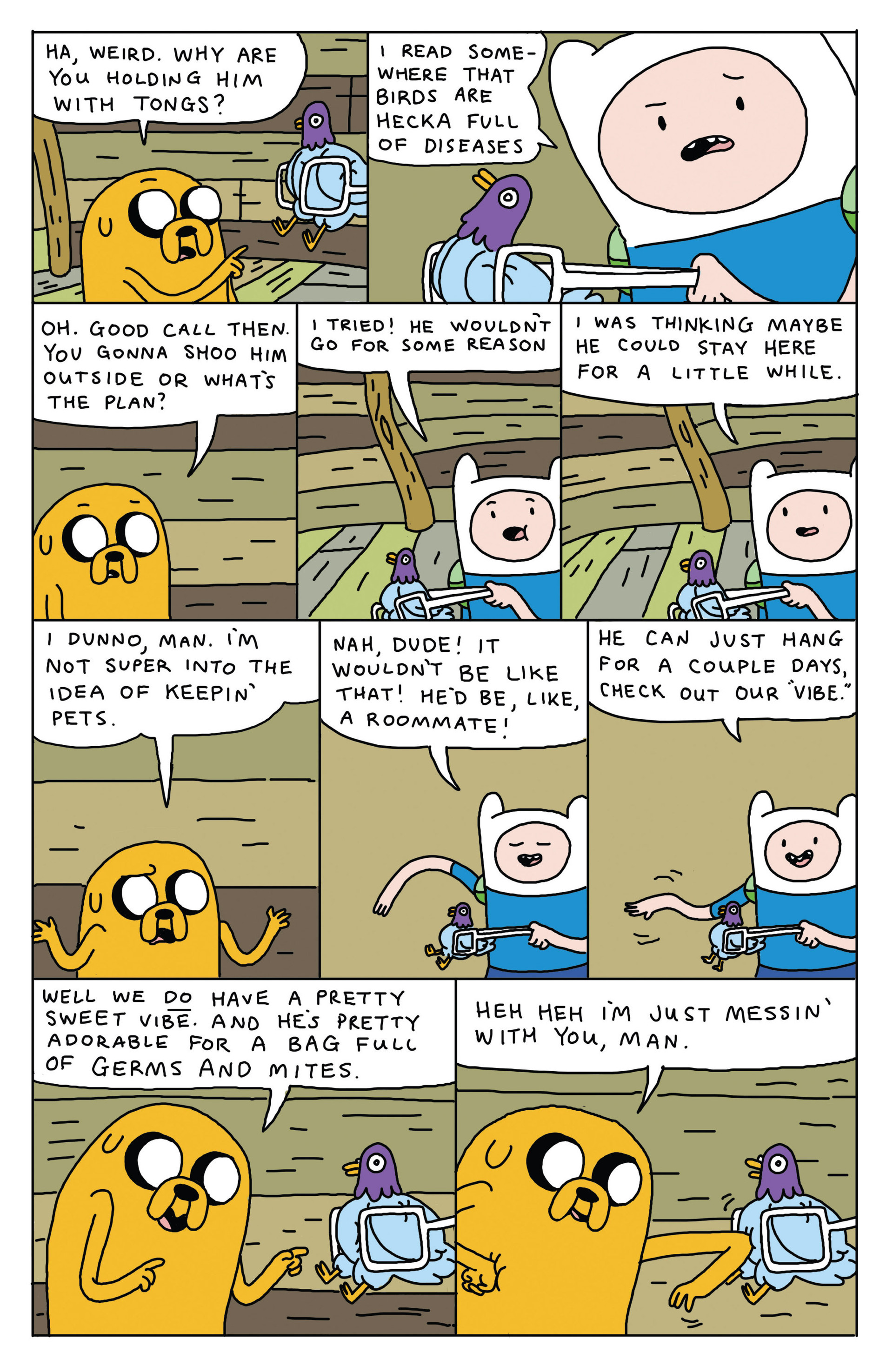 Read online Adventure Time 2013 Summer Special comic -  Issue #Adventure Time 2013 Summer Special Full - 13