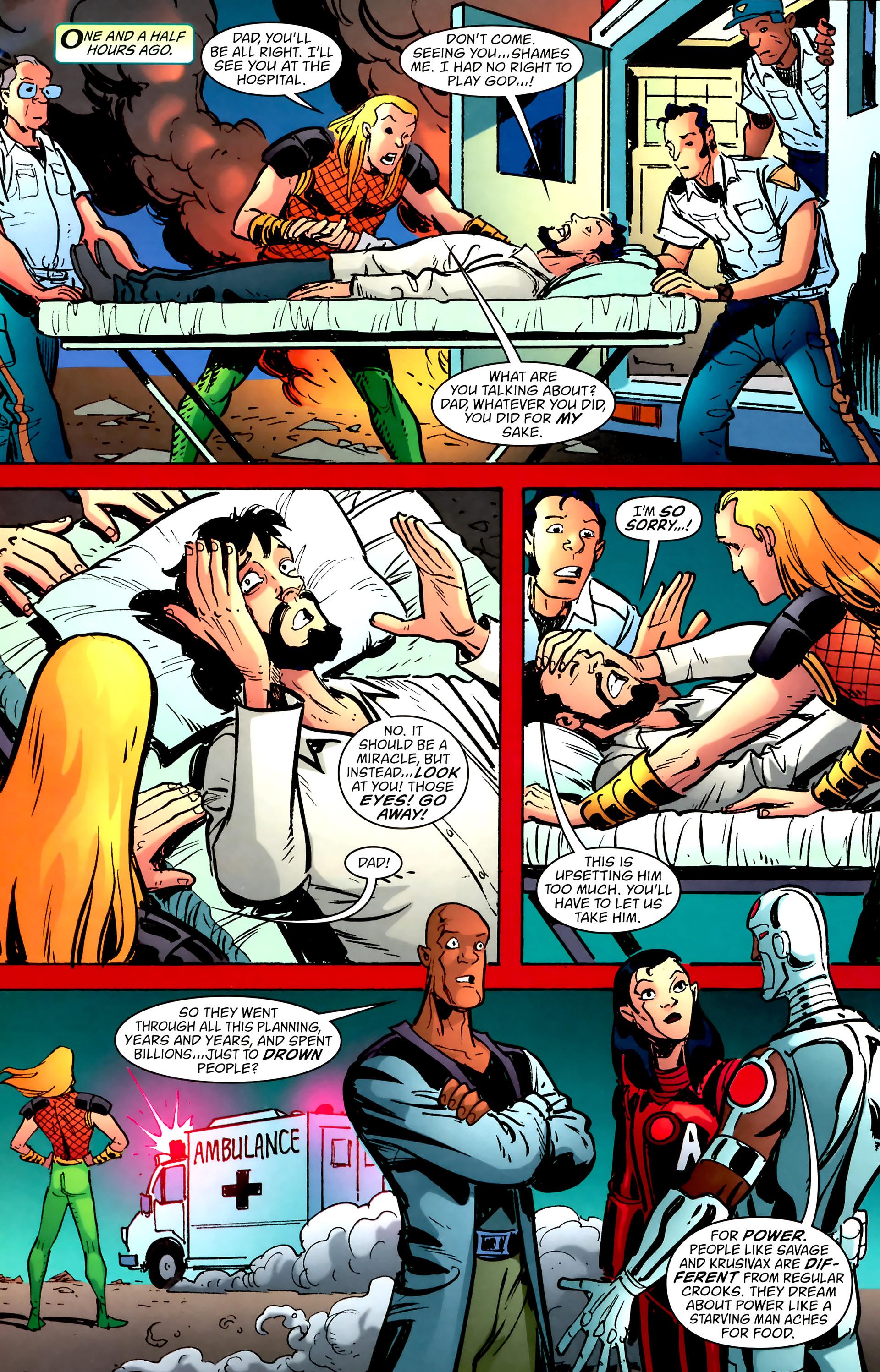 Read online Aquaman: Sword of Atlantis comic -  Issue #57 - 4