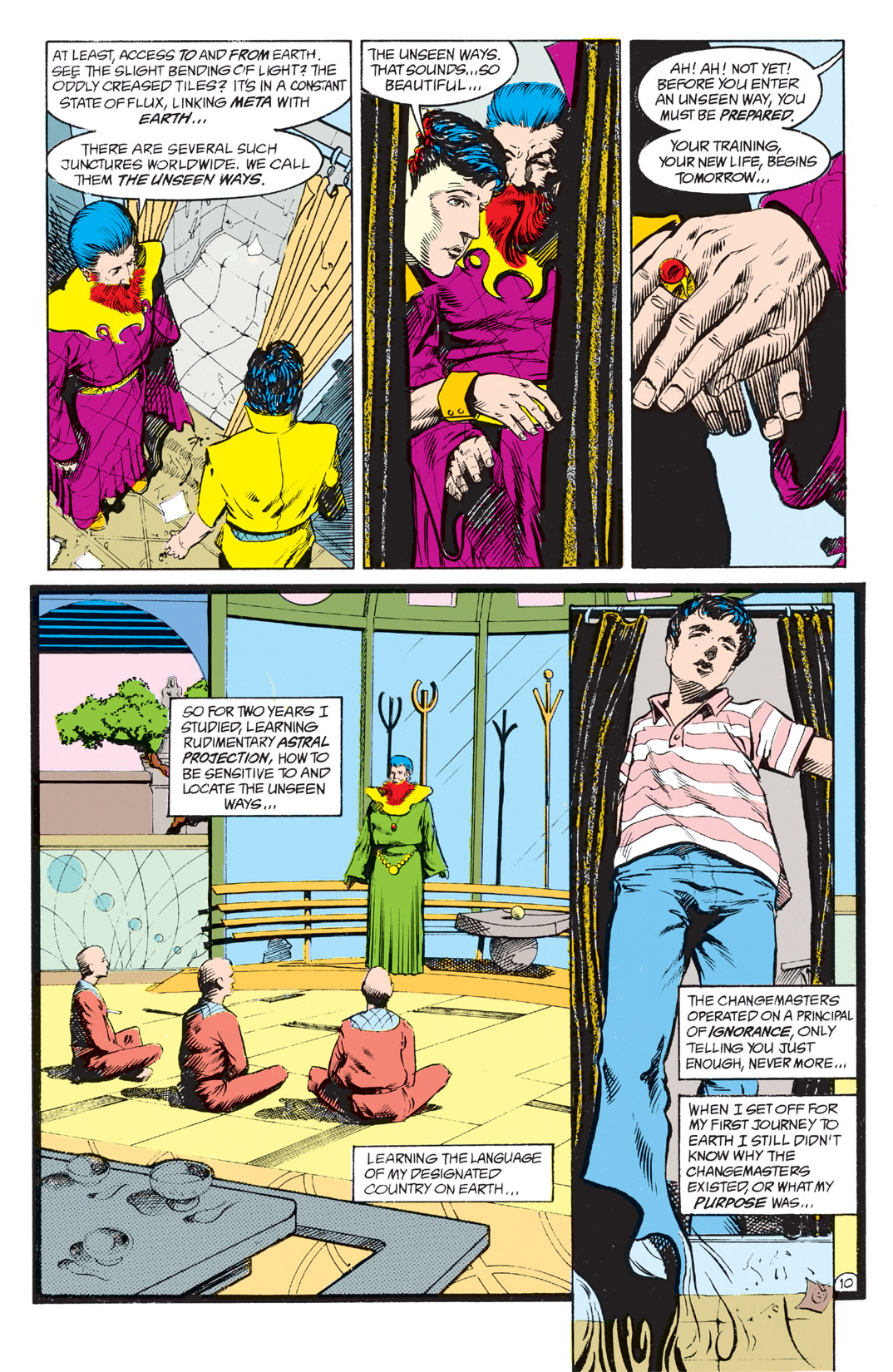 Read online Shade, the Changing Man comic -  Issue #4 - 12