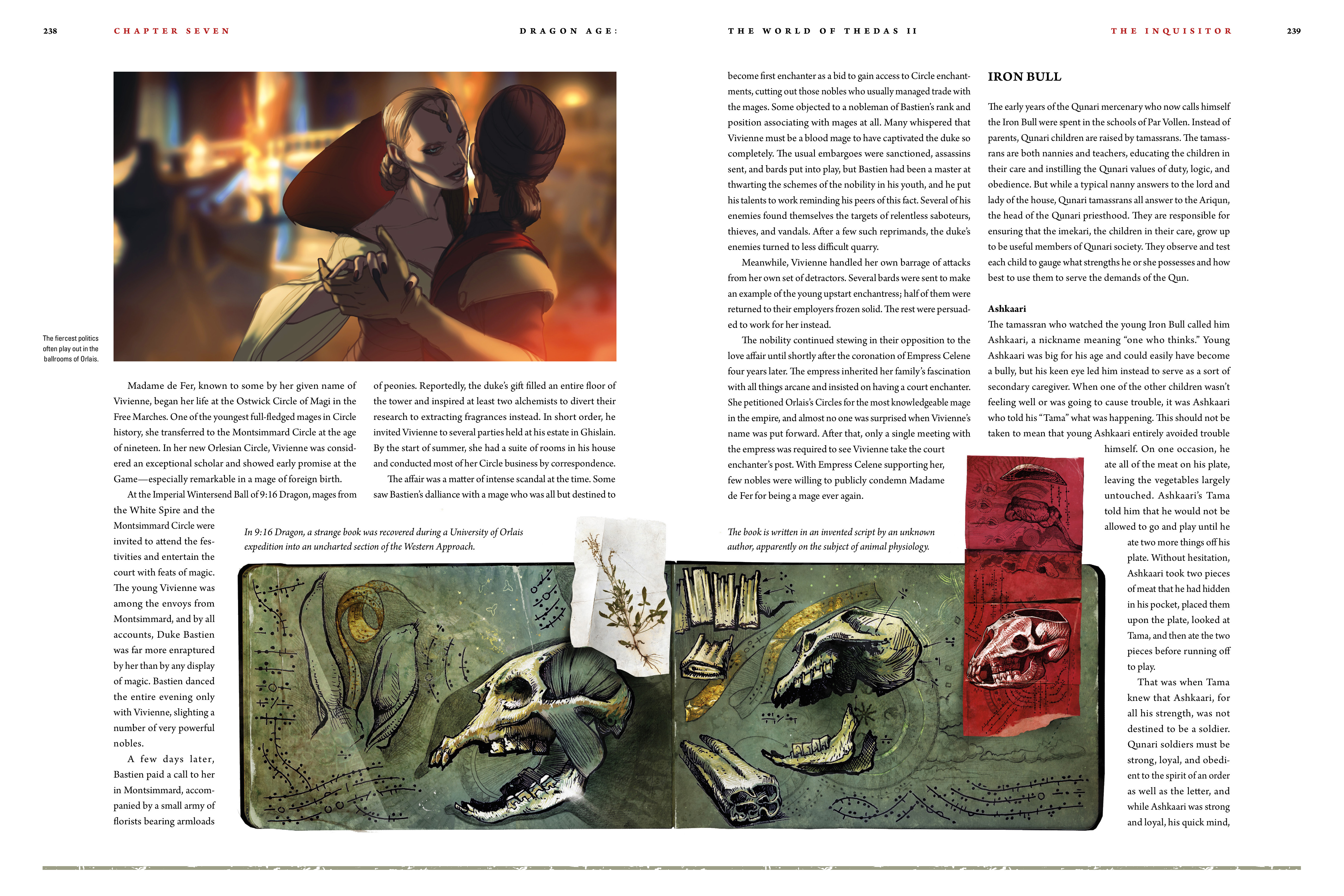 Read online Dragon Age: The World of Thedas comic -  Issue # TPB 2 - 233