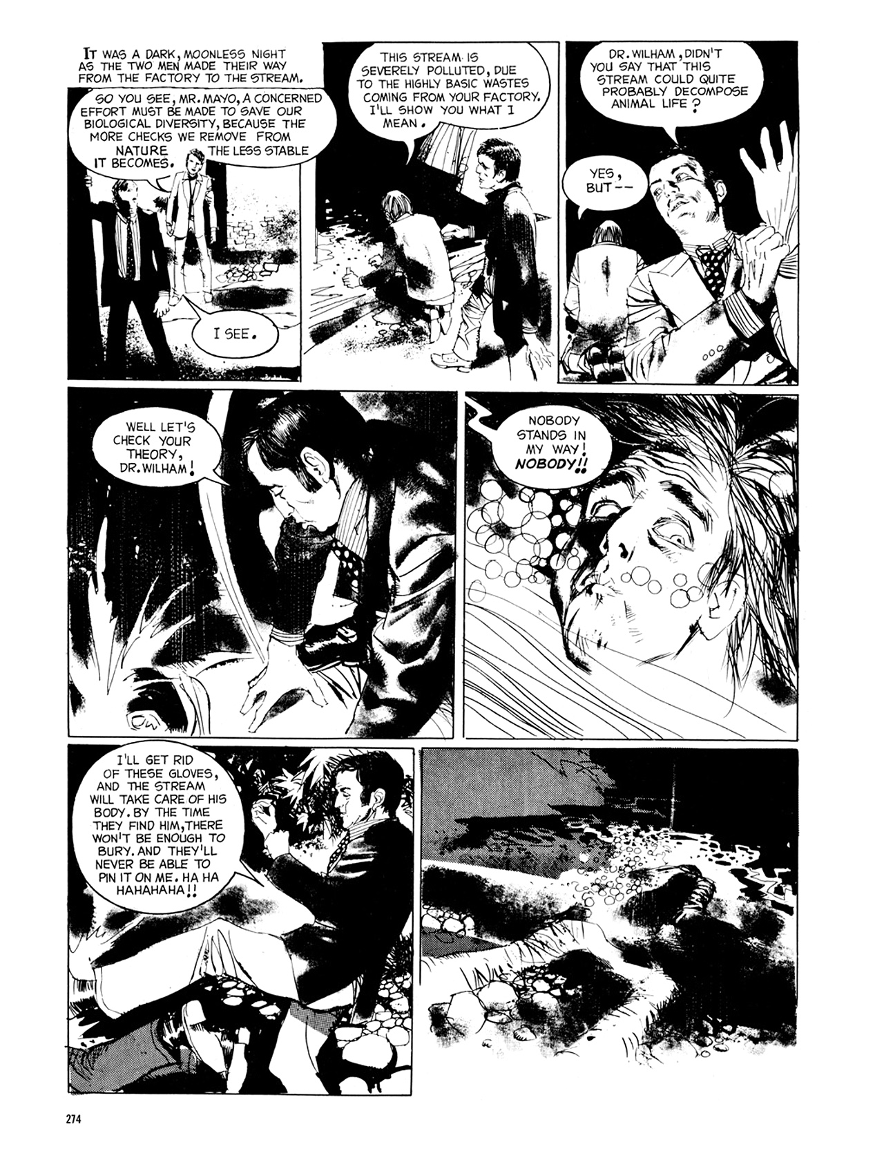 Read online Eerie Archives comic -  Issue # TPB 8 - 275