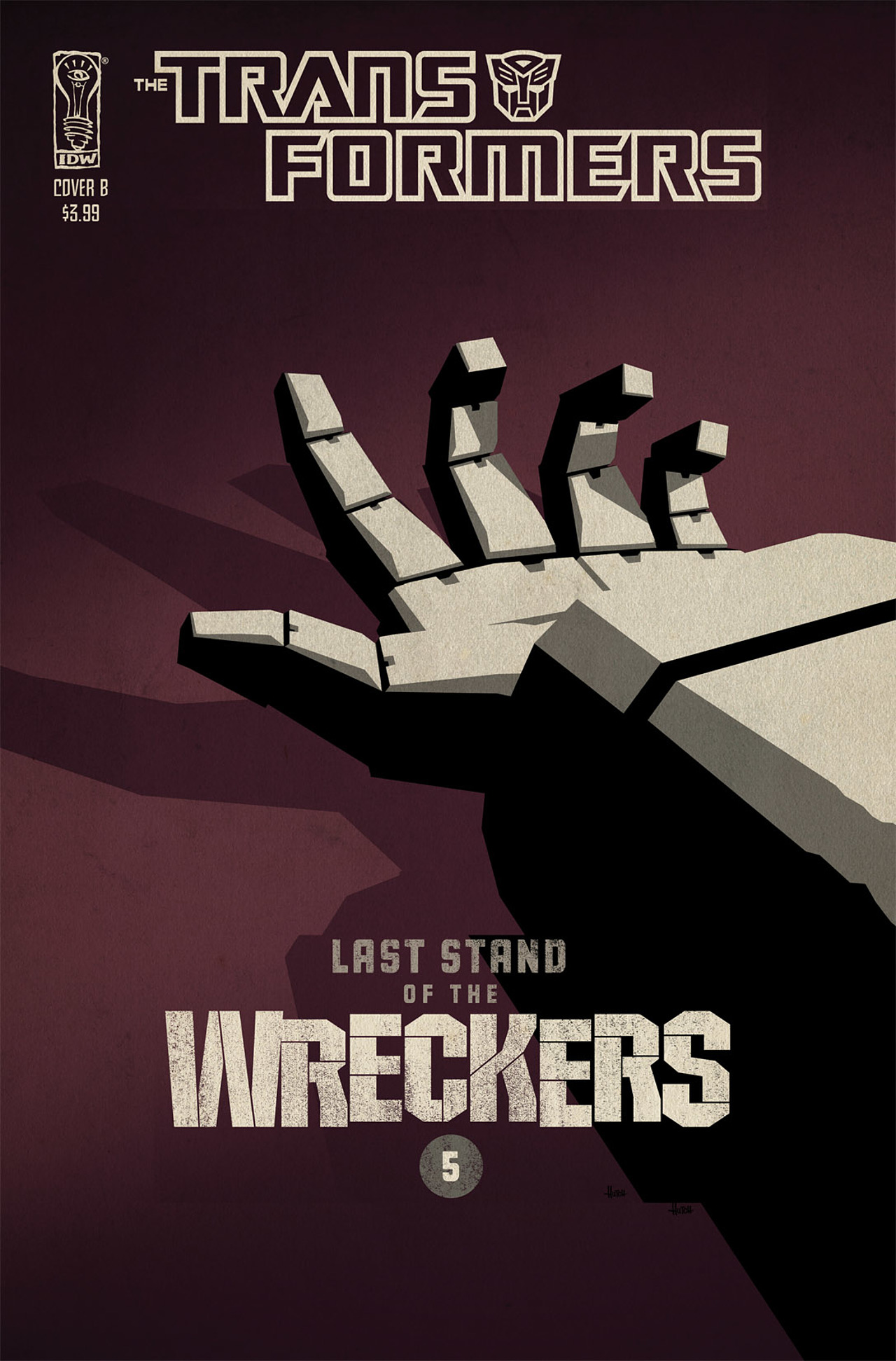 Read online Transformers: Last Stand of The Wreckers comic -  Issue #5 - 2