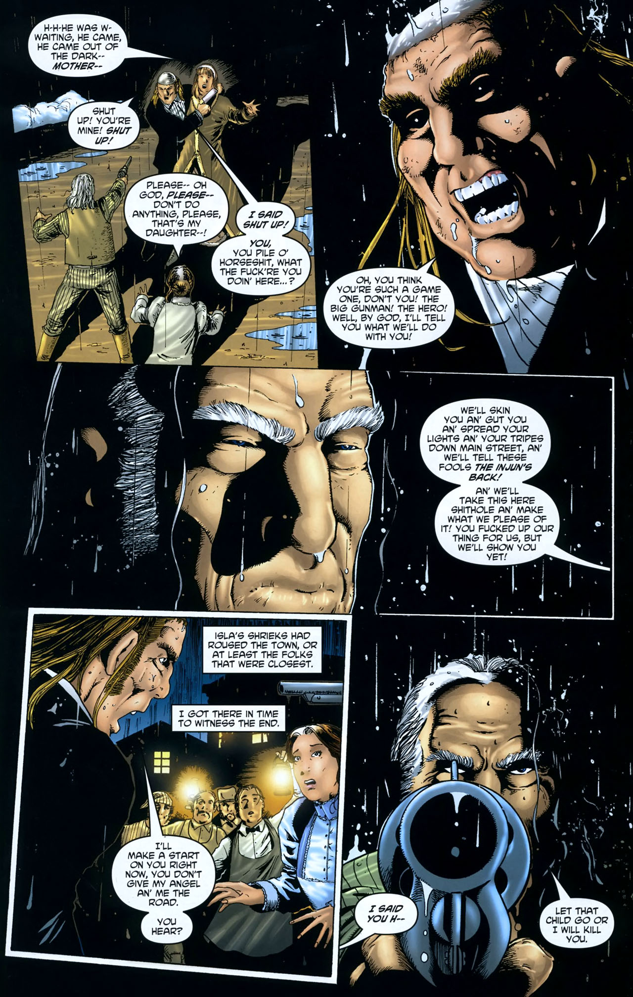 Read online Garth Ennis' Streets of Glory comic -  Issue #5 - 18