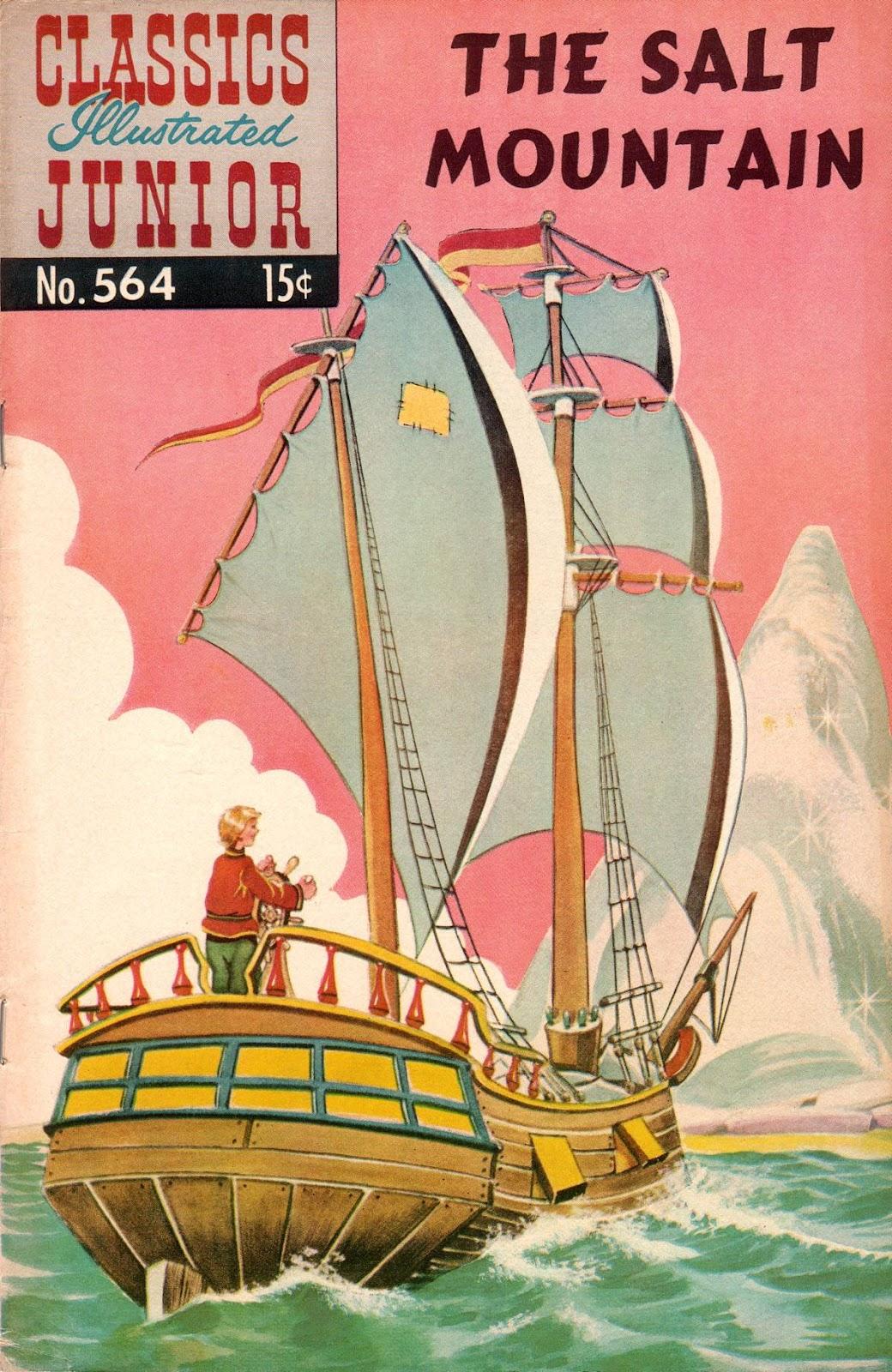 Classics Illustrated Junior 564 Page 1