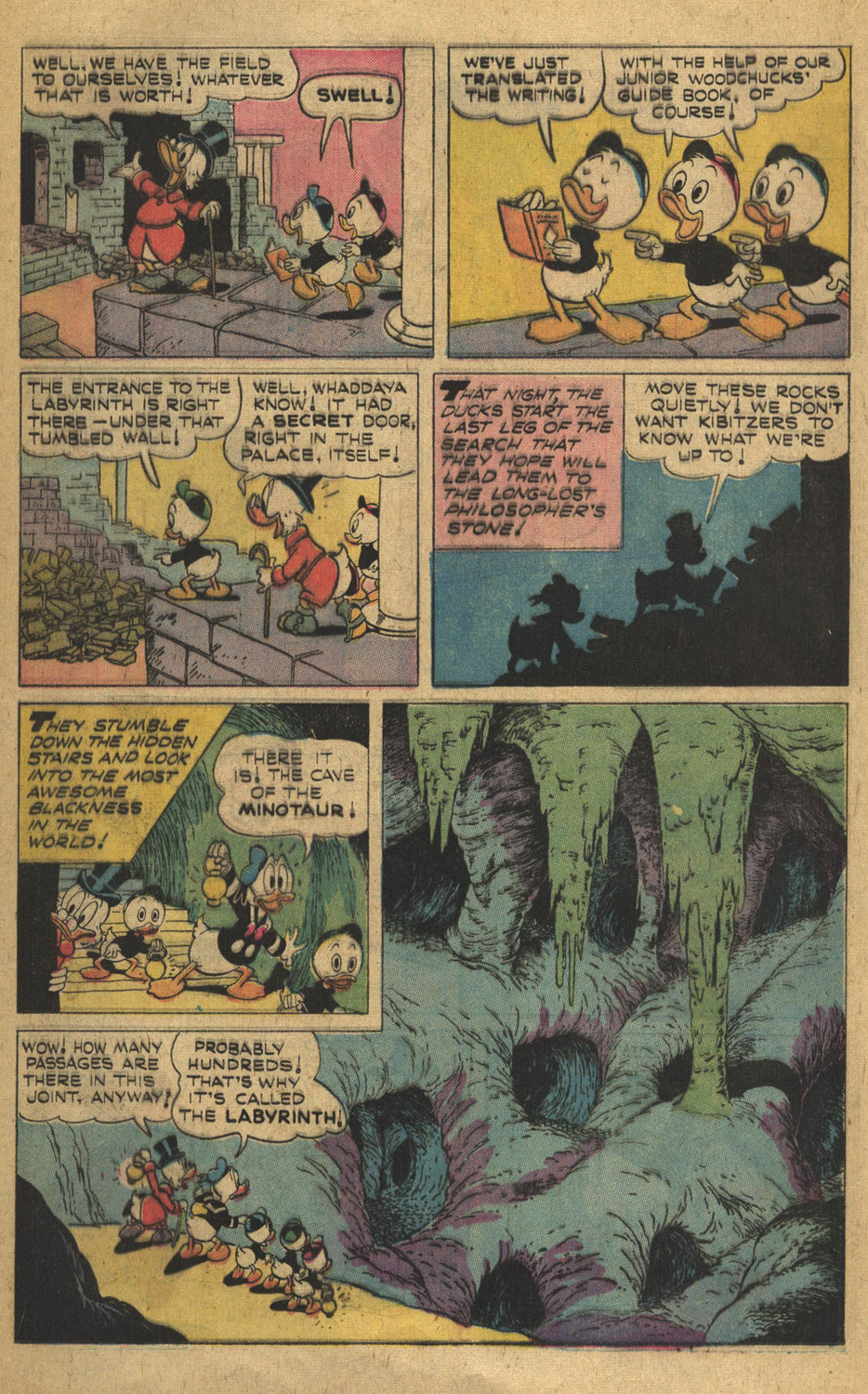 Read online Uncle Scrooge (1953) comic -  Issue #132 - 16