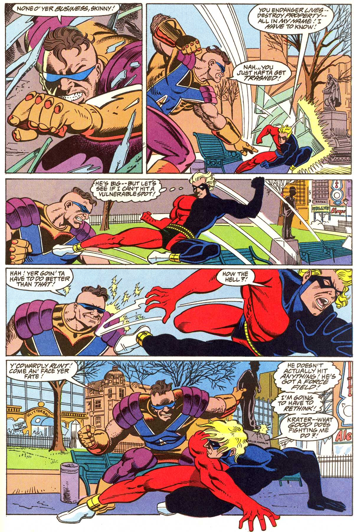 Read online Peter Cannon--Thunderbolt (1992) comic -  Issue #5 - 16