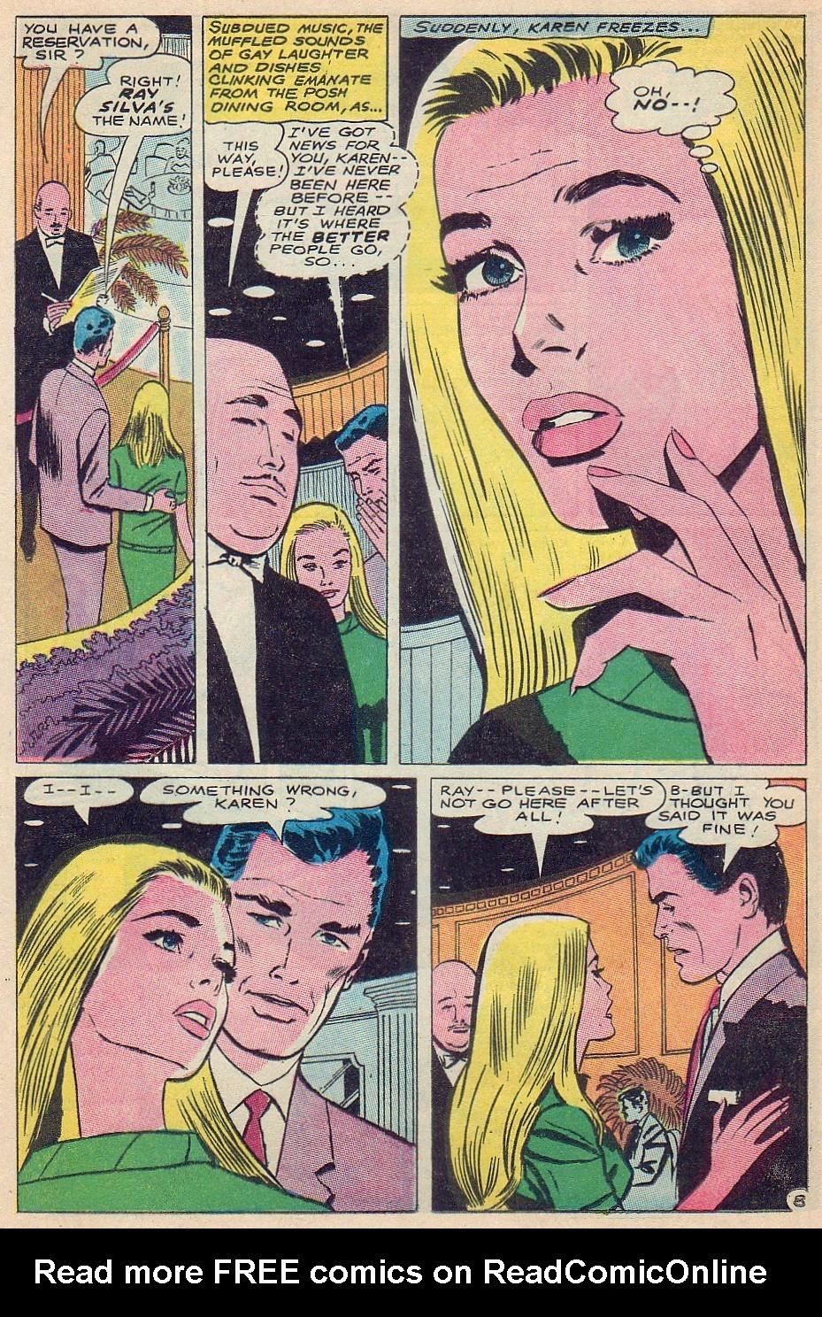 Read online Secret Hearts comic -  Issue #124 - 24