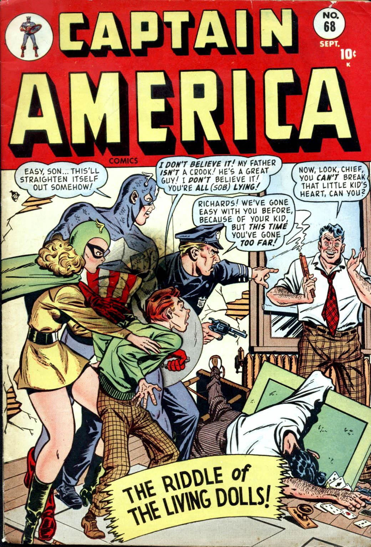 Captain America Comics 68 Page 1