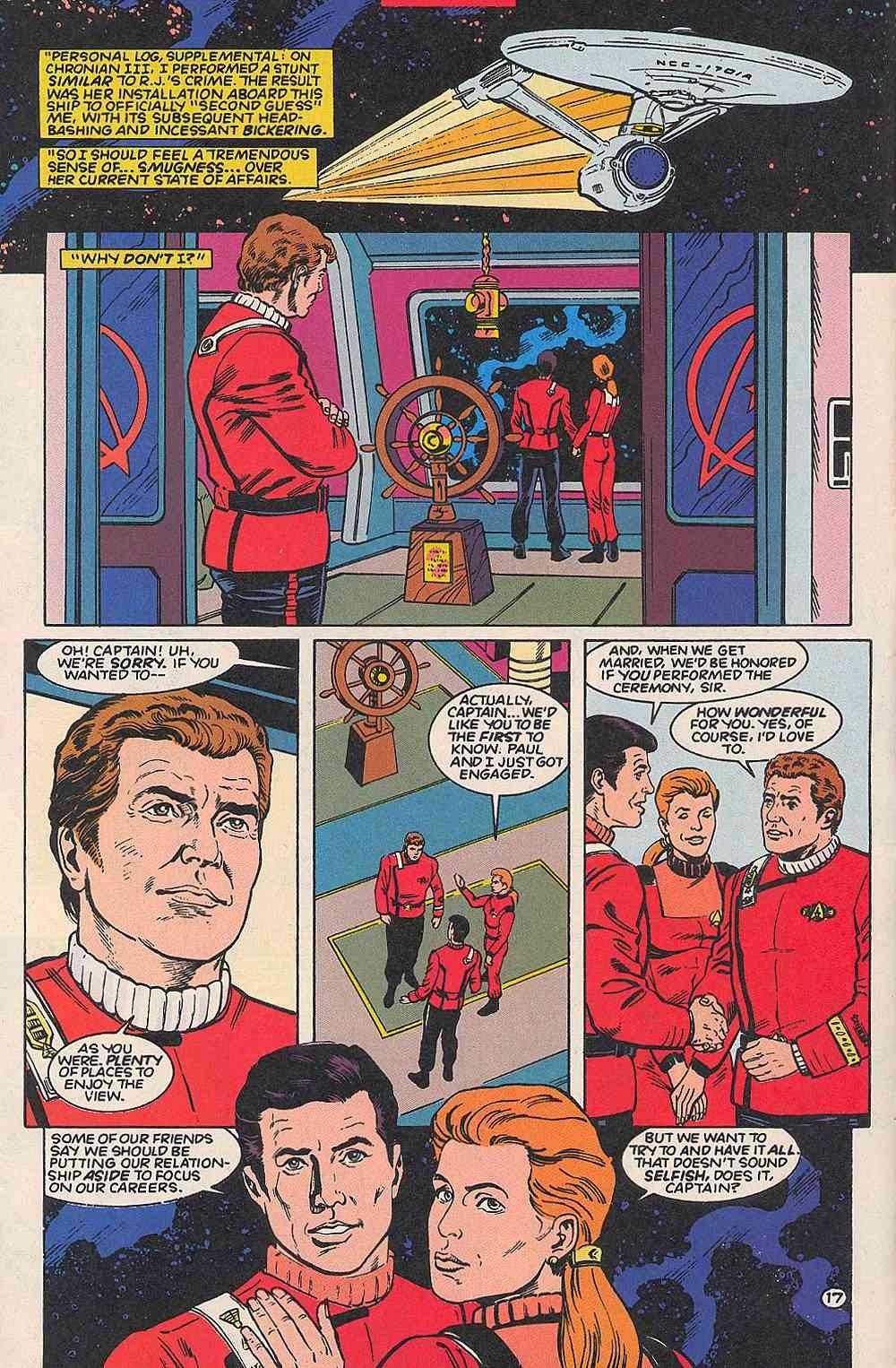 Read online Star Trek (1989) comic -  Issue # _Special 1 - 22