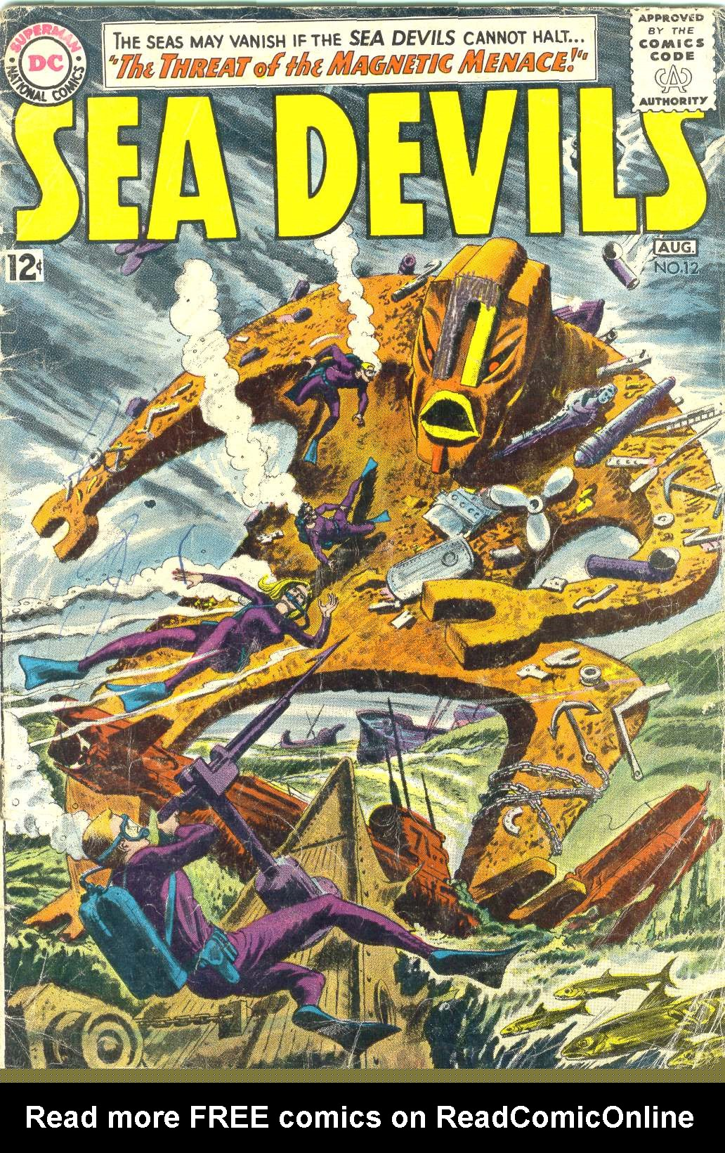 Read online Sea Devils comic -  Issue #12 - 1