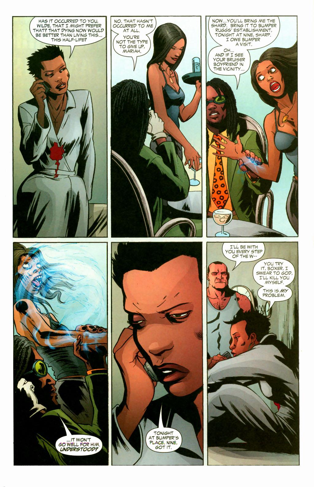 Read online Fallen Angel (2003) comic -  Issue #10 - 16