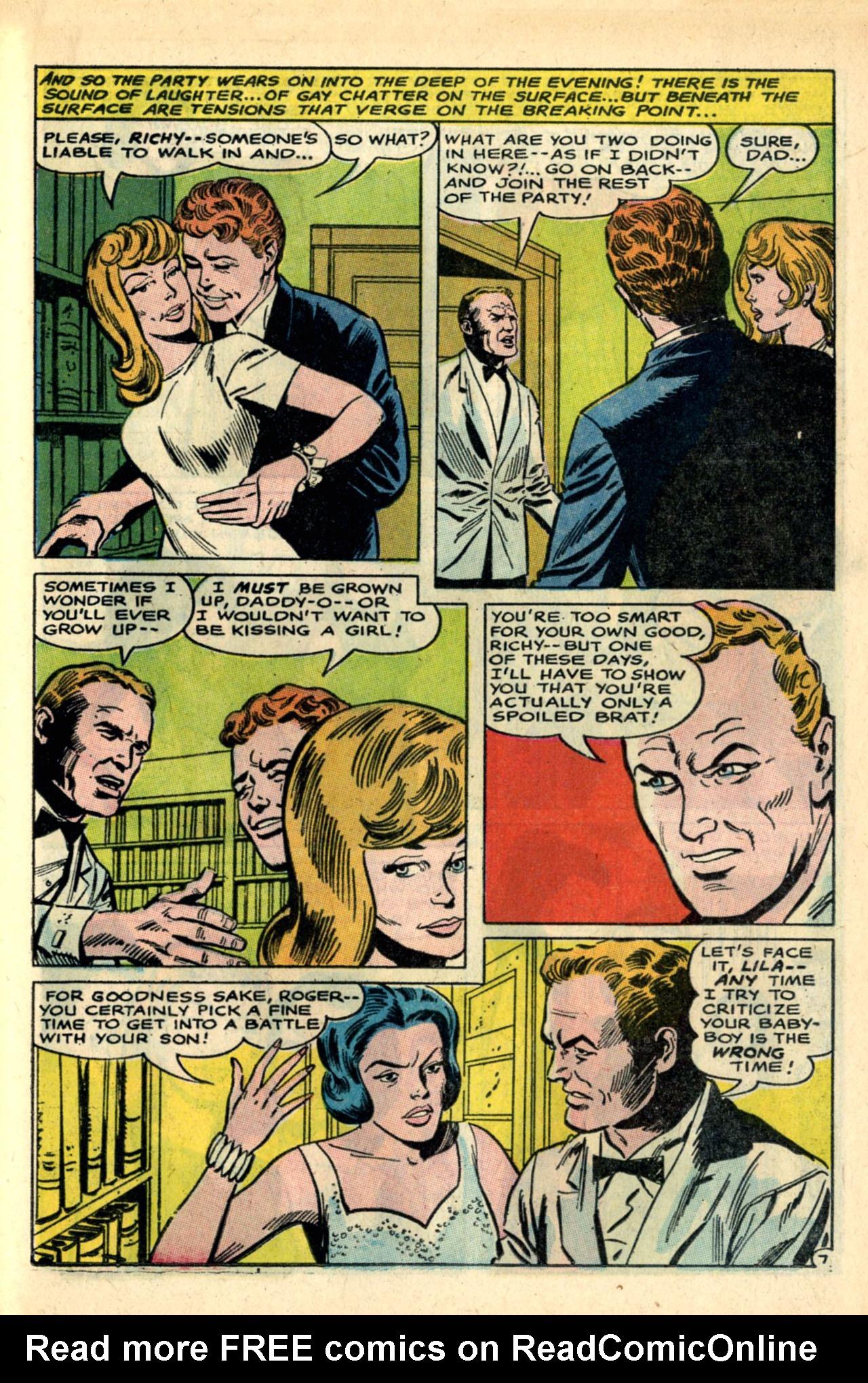 Read online Secret Hearts comic -  Issue #120 - 25