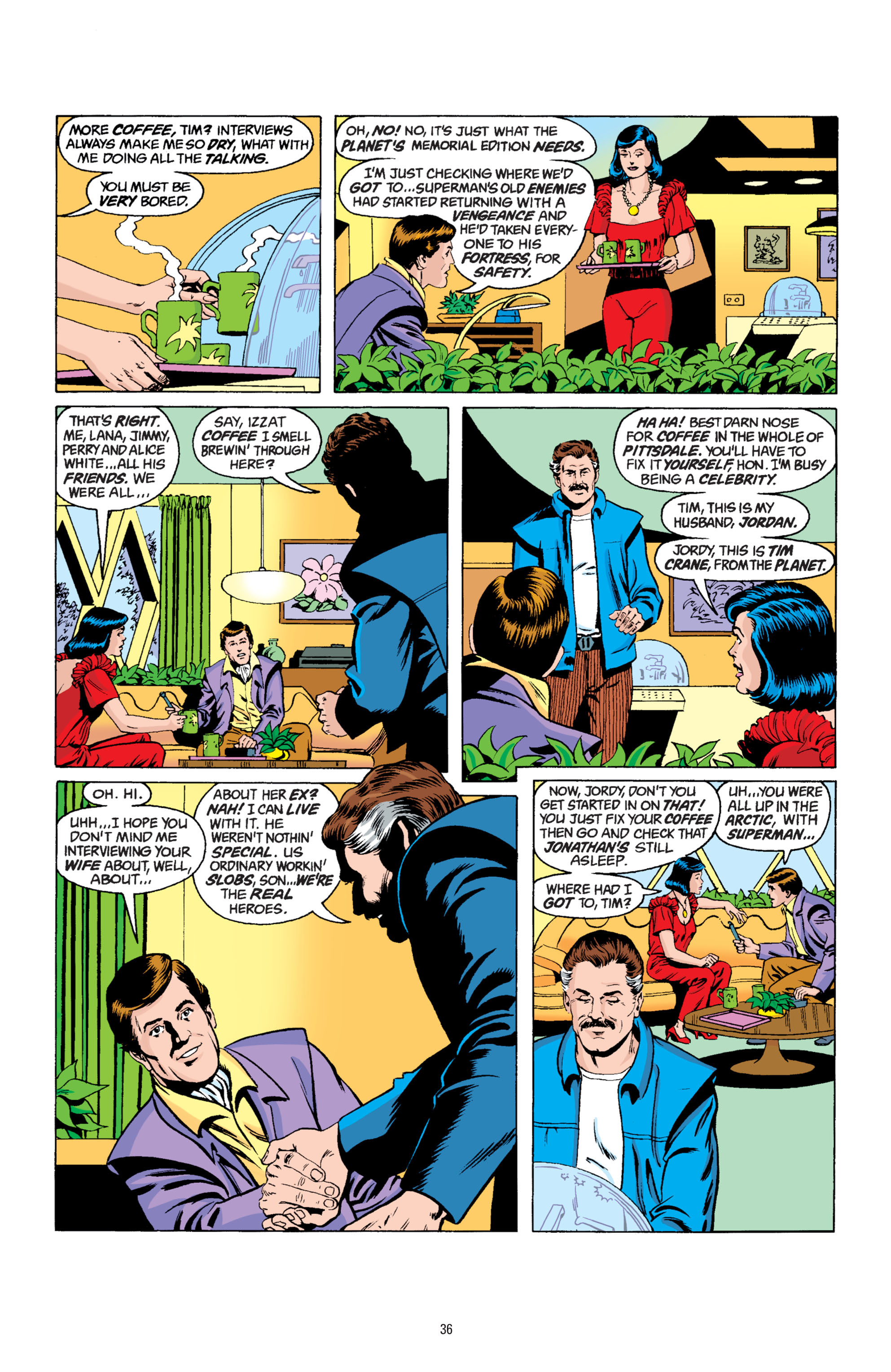 Read online Superman: Whatever Happened to the Man of Tomorrow? comic -  Issue # TPB - 35