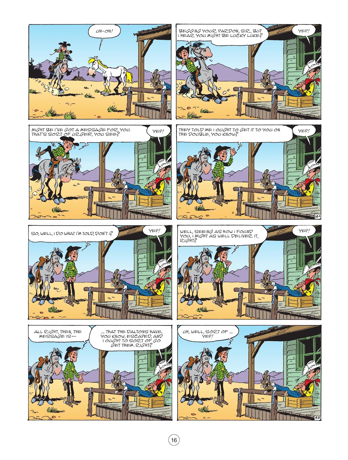 A Lucky Luke Adventure issue 73 - Page 18