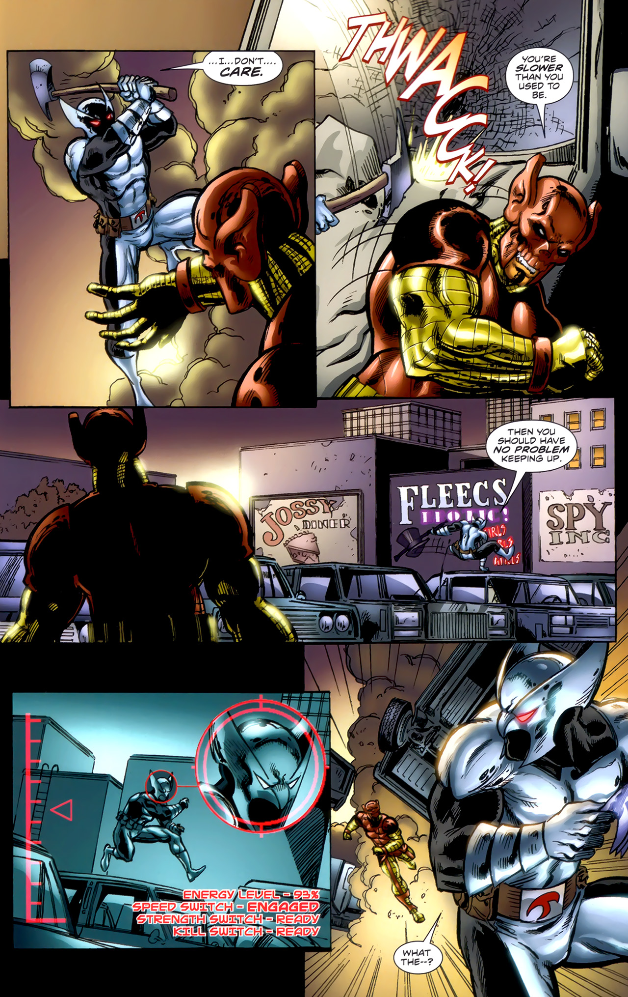 Read online ShadowHawk (2010) comic -  Issue #1 - 11