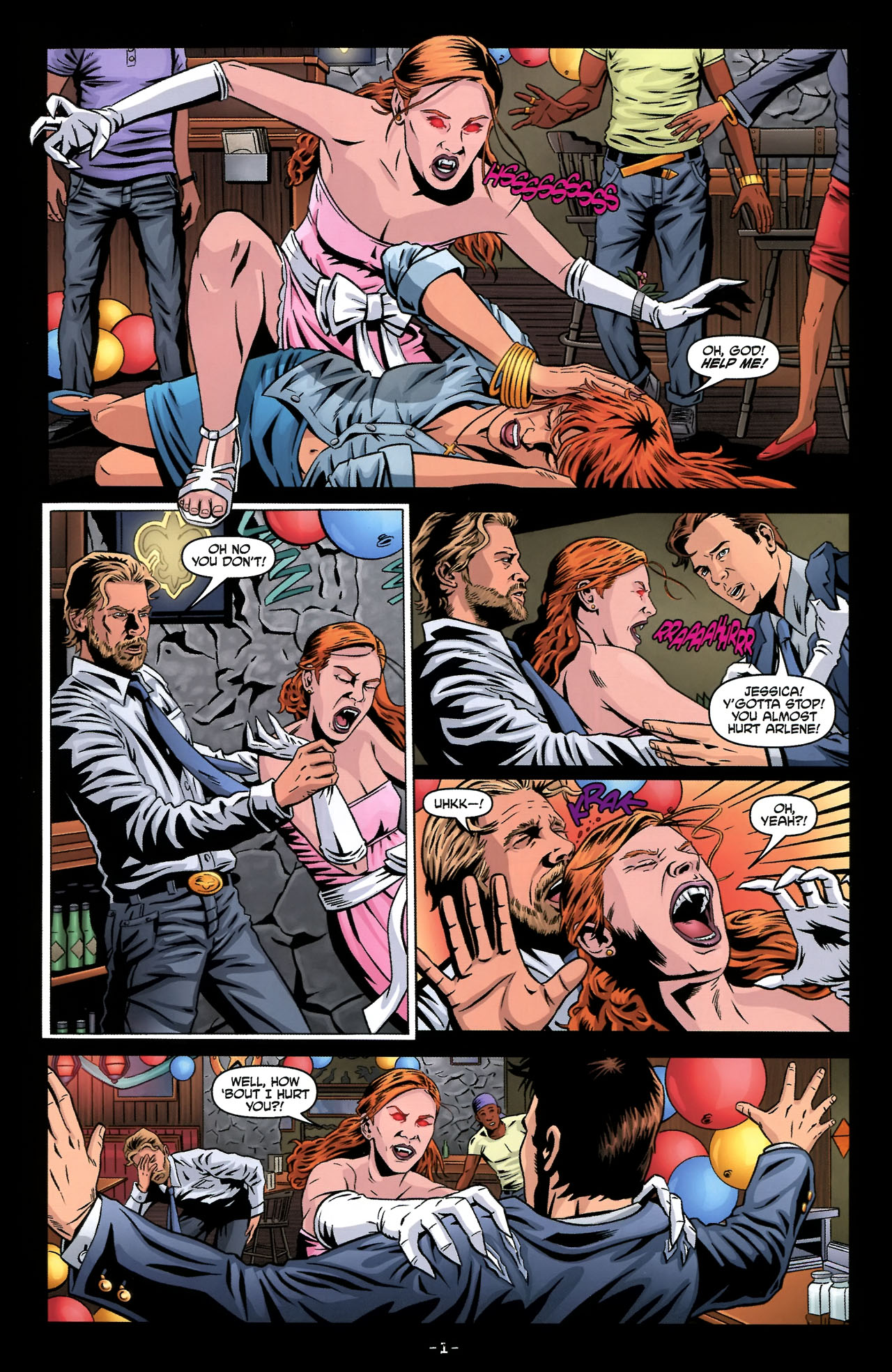 Read online True Blood: Tainted Love comic -  Issue #2 - 5
