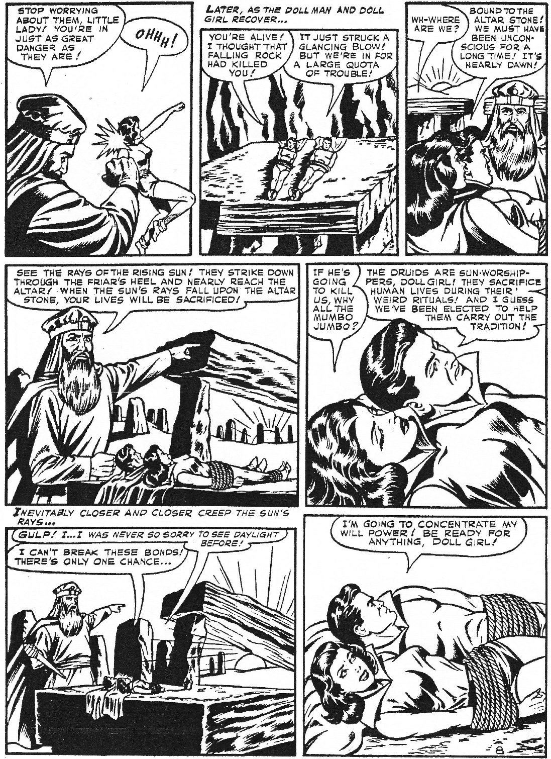 Read online Men of Mystery Comics comic -  Issue #74 - 50