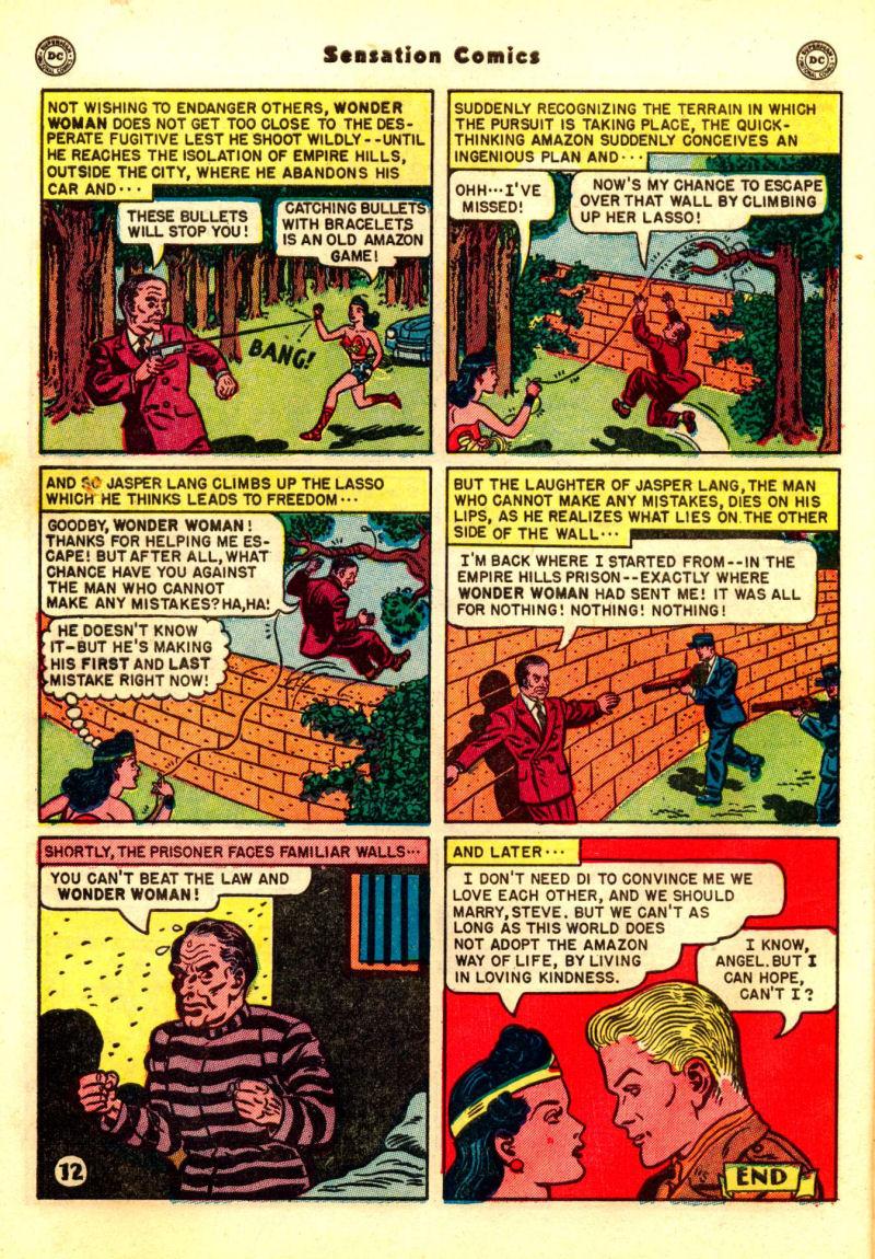 Read online Sensation (Mystery) Comics comic -  Issue #99 - 14