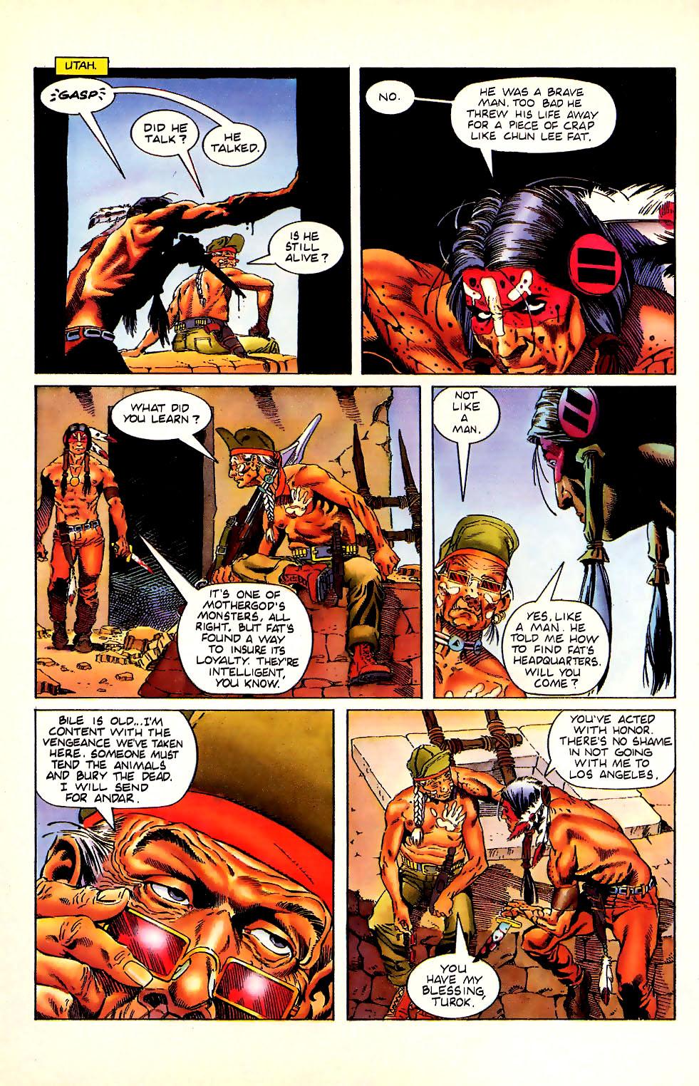 Read online Turok, Dinosaur Hunter (1993) comic -  Issue #11 - 6