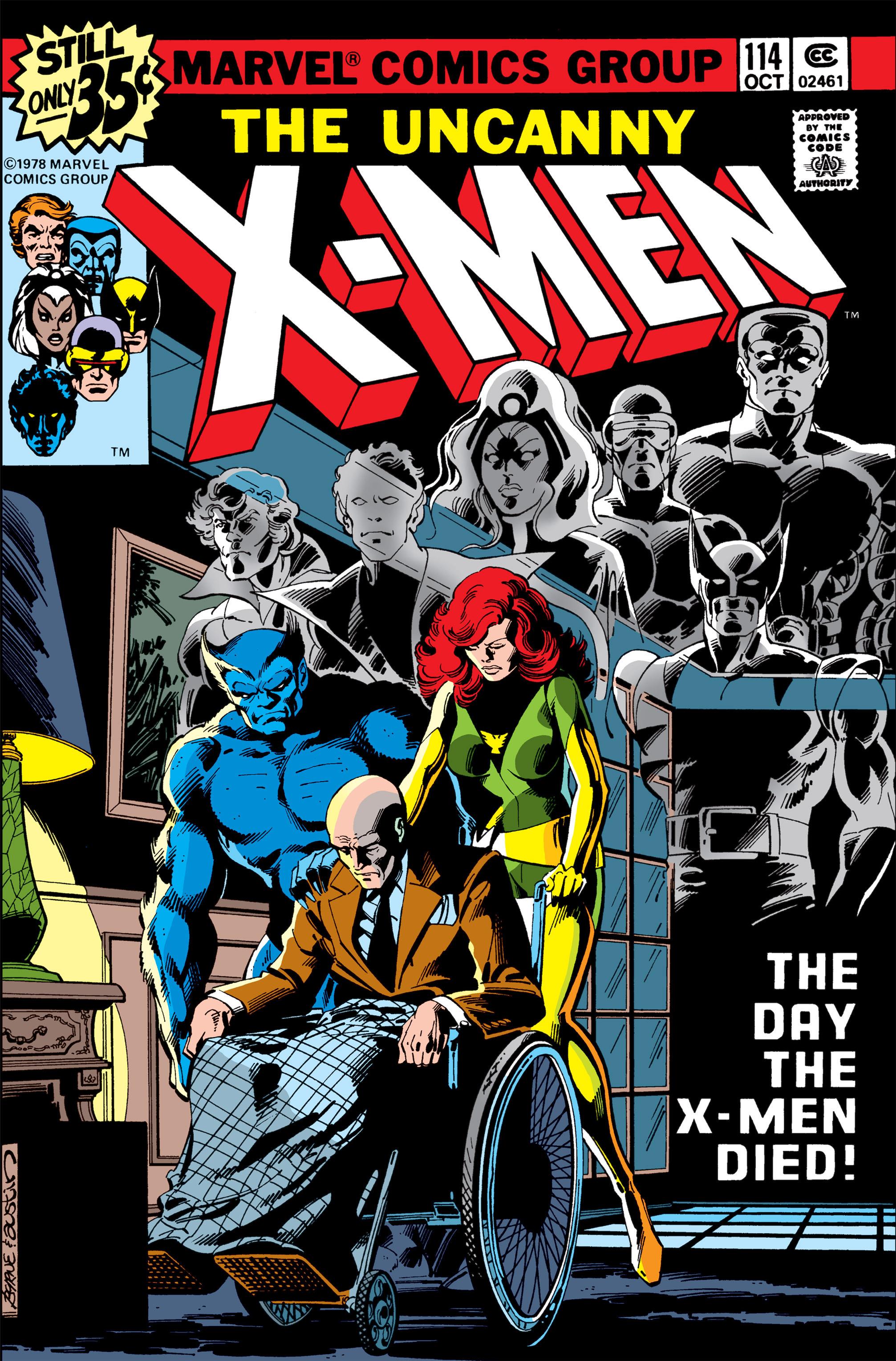 Uncanny X-Men (1963) 114 Page 0