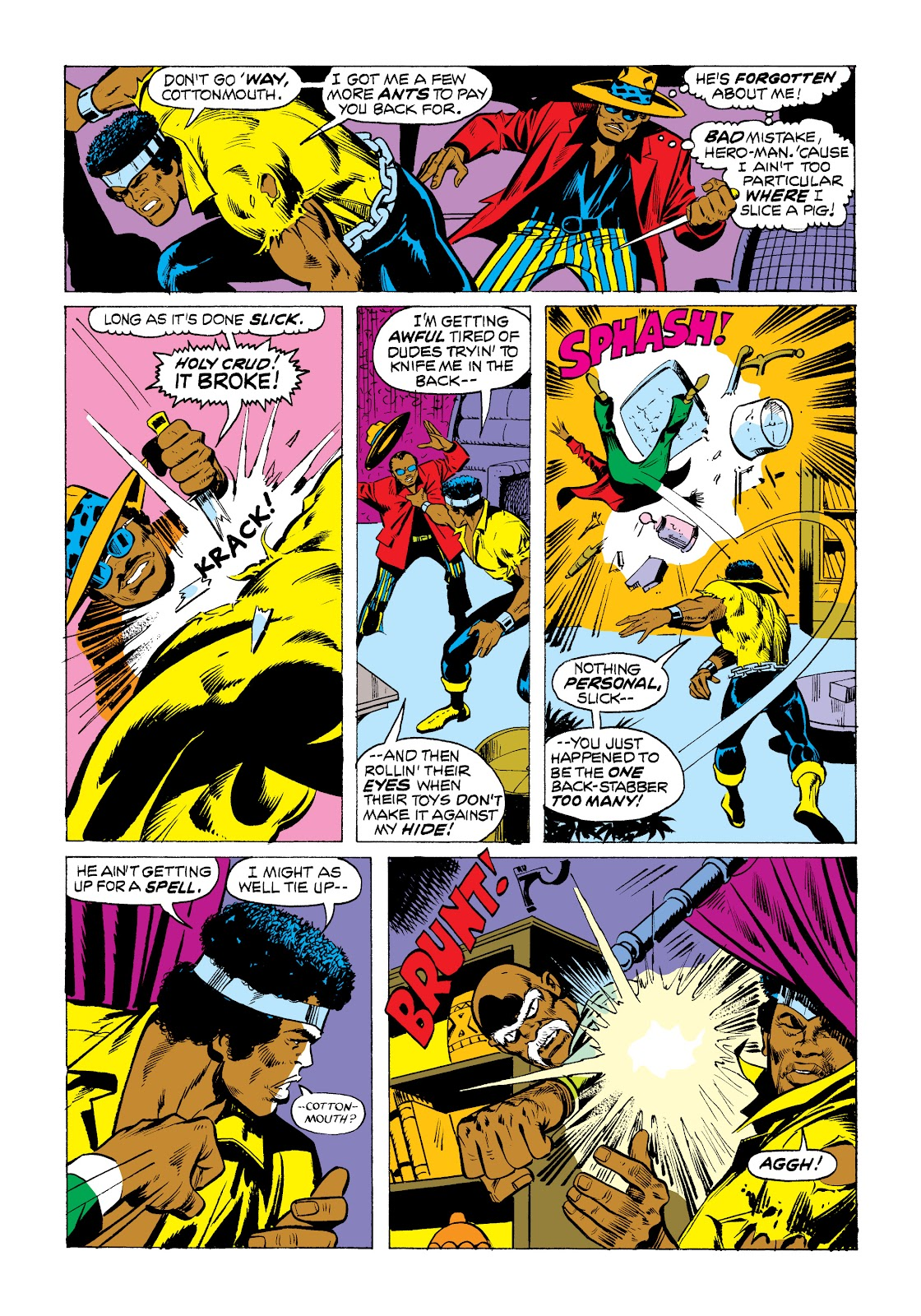 Read online Marvel Masterworks: Luke Cage, Power Man comic -  Issue # TPB 2 (Part 1) - 82