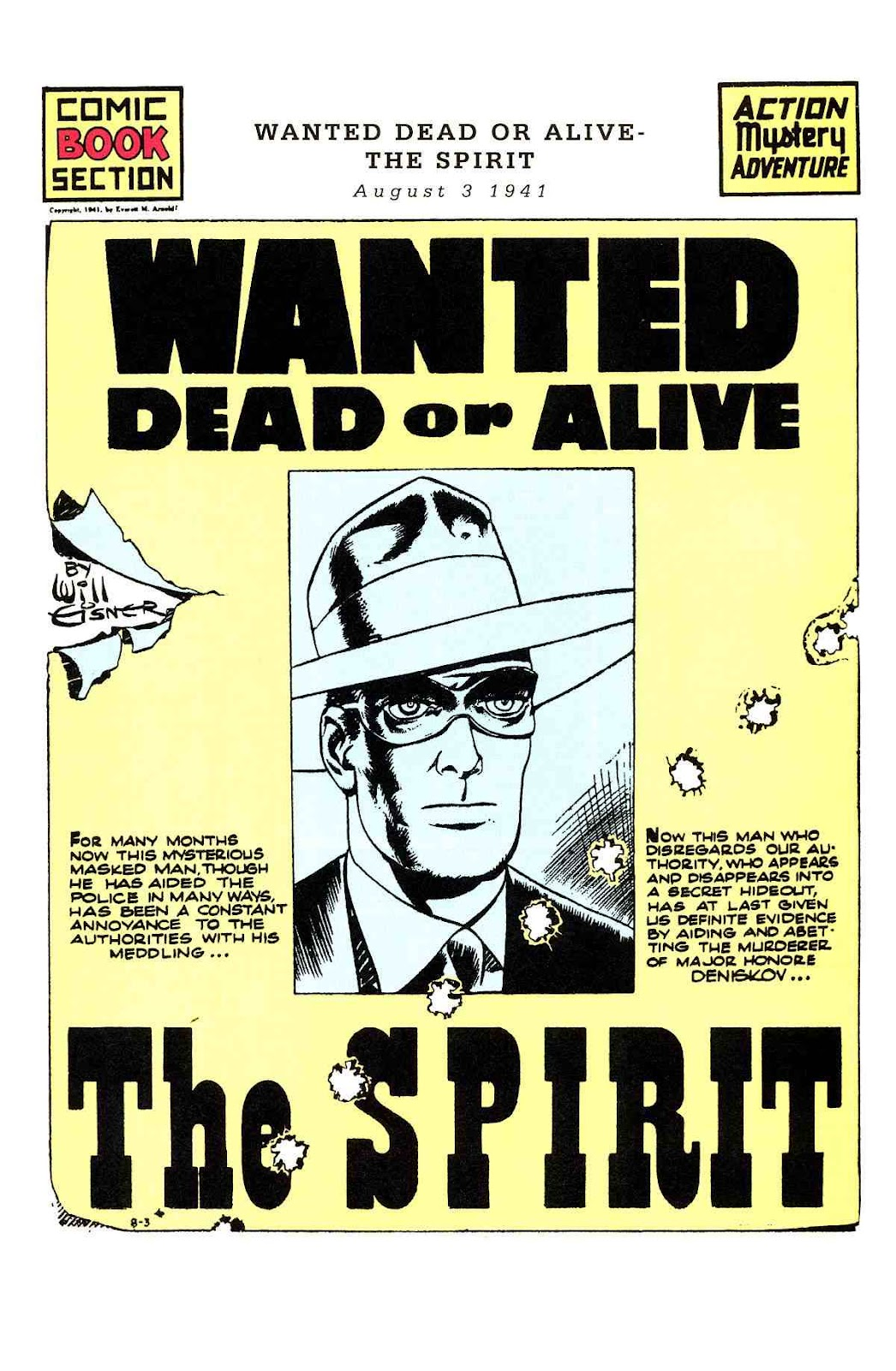 Read online Will Eisner's The Spirit Archives comic -  Issue # TPB 3 (Part 1) - 34