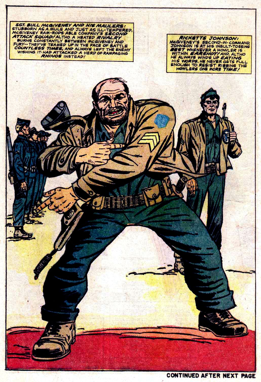 Read online Sgt. Fury comic -  Issue # _Special 3 - 60