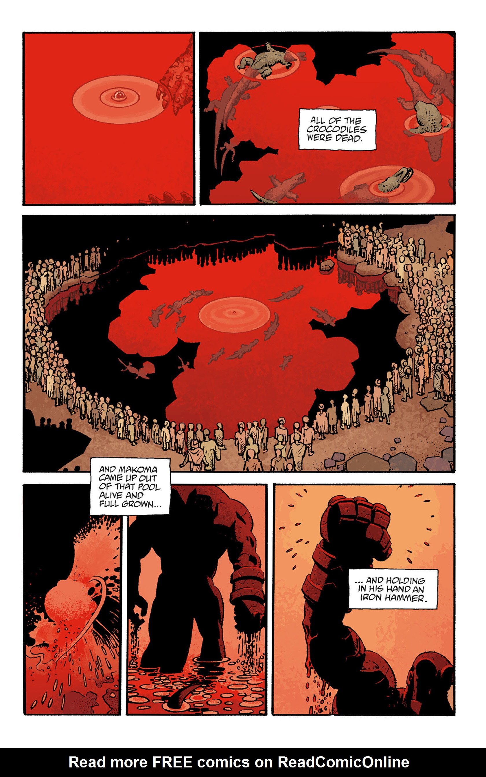 Read online Hellboy: The Troll Witch and Others comic -  Issue # TPB - 91