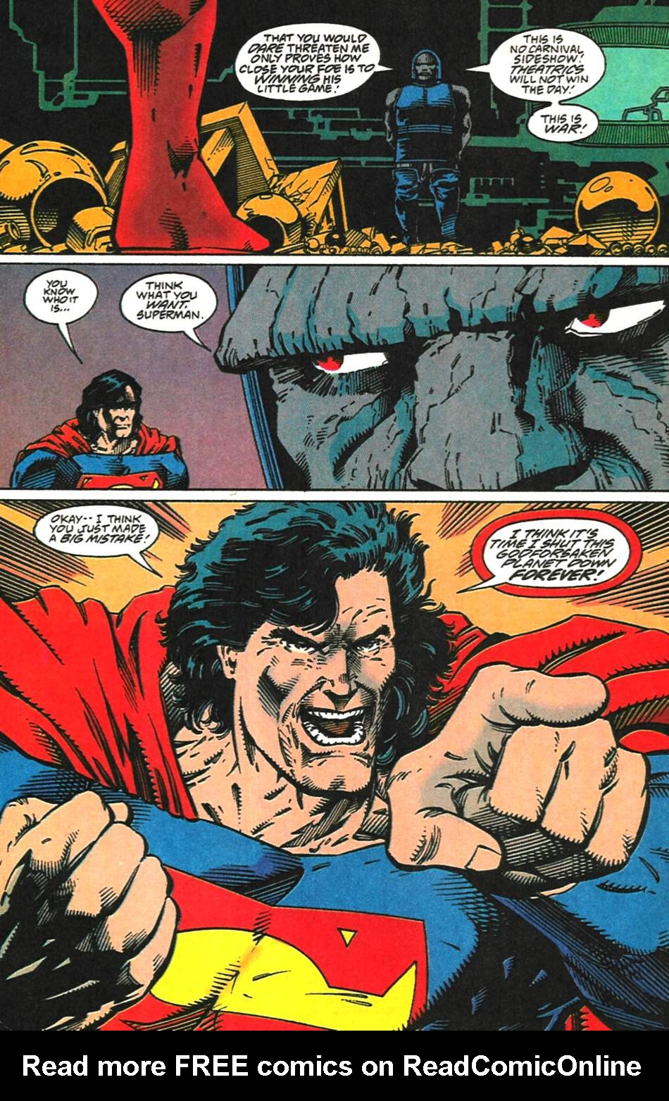 Read online Adventures of Superman (1987) comic -  Issue #518 - 19