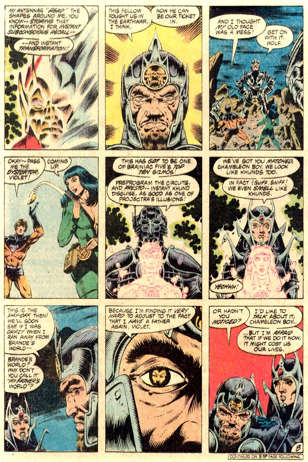 Legion of Super-Heroes (1980) 287 Page 8