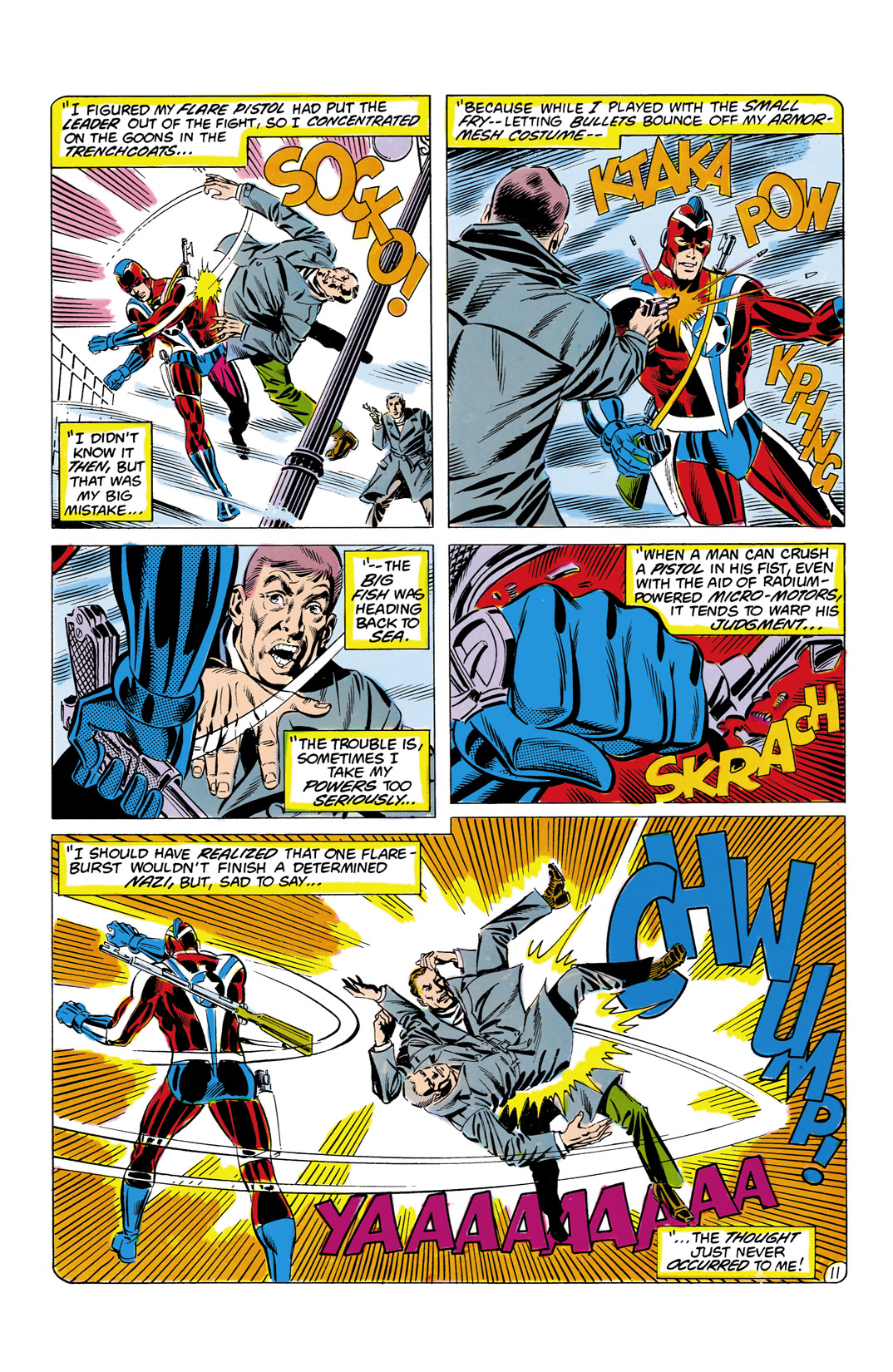 Read online All-Star Squadron comic -  Issue #8 - 12