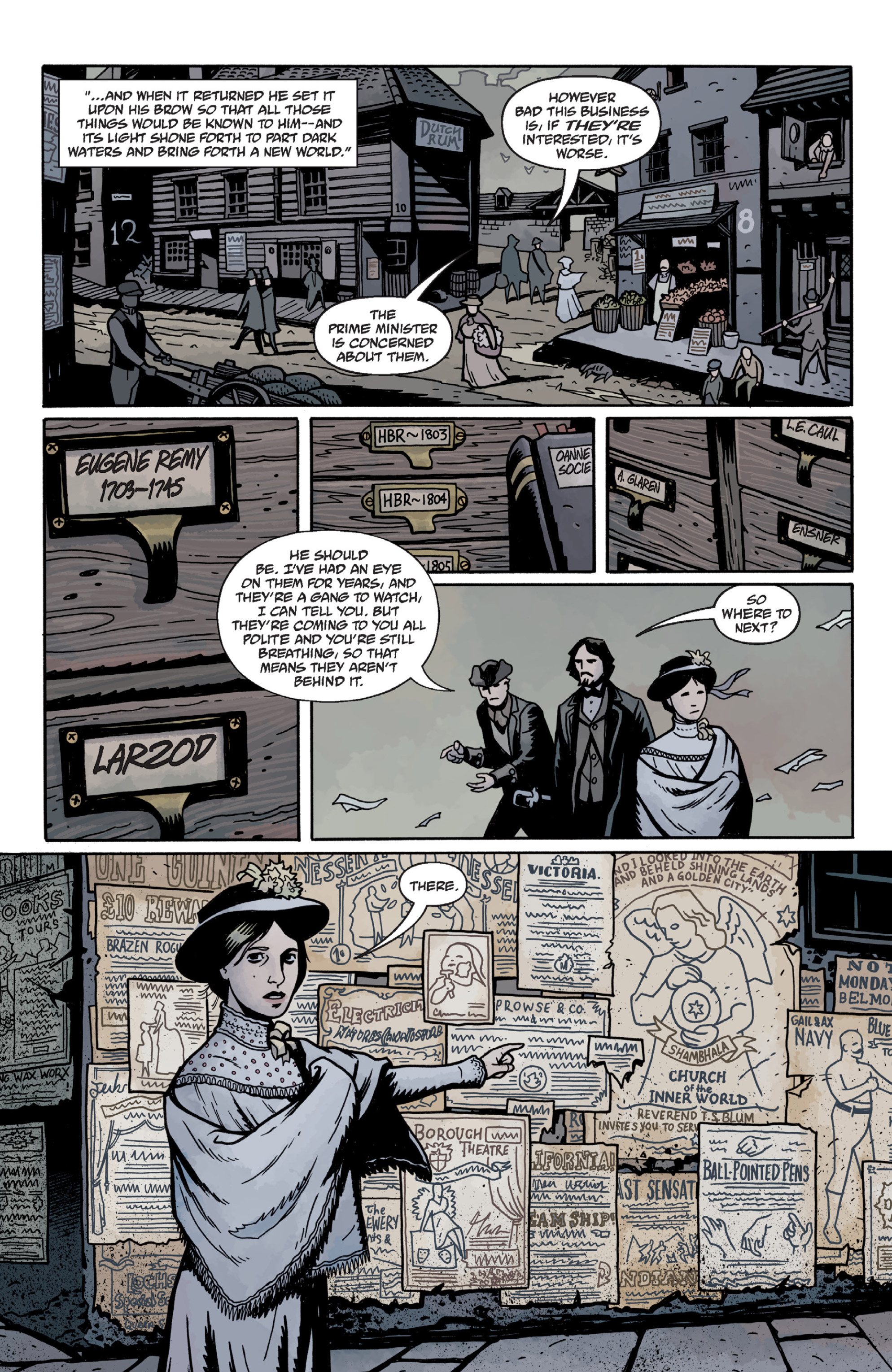 Read online Sir Edward Grey, Witchfinder: In the Service of Angels comic -  Issue # TPB - 68