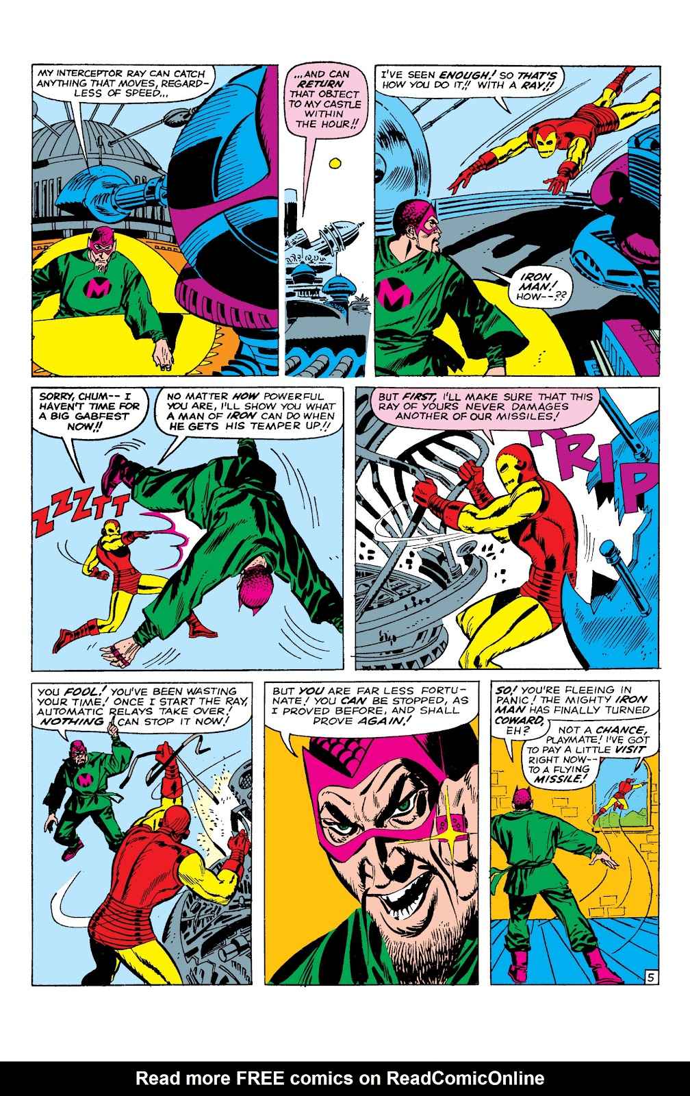 Read online Marvel Masterworks: The Invincible Iron Man comic -  Issue # TPB 2 (Part 1) - 66