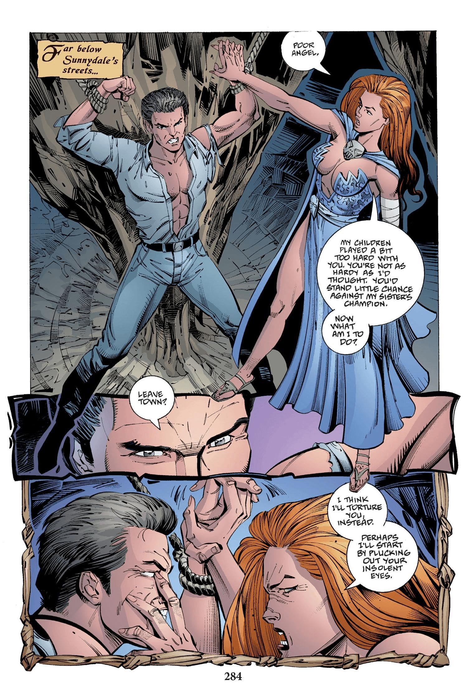 Read online Buffy the Vampire Slayer: Omnibus comic -  Issue # TPB 2 - 276