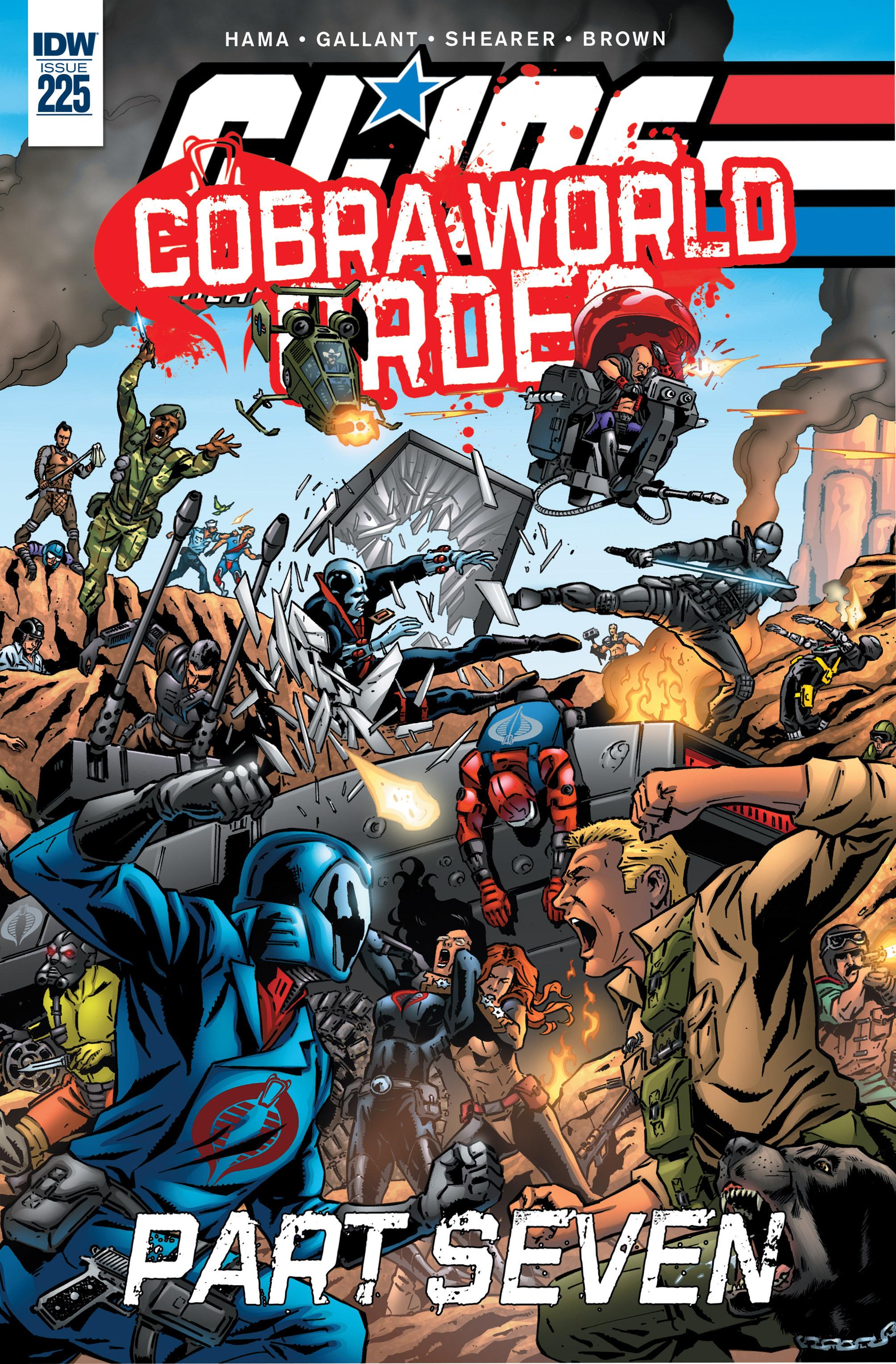 G.I. Joe: A Real American Hero 225 Page 1