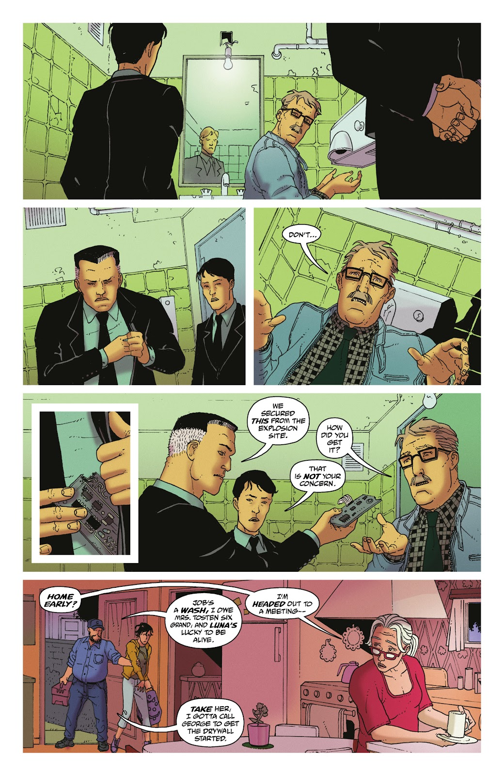 Read online She Could Fly comic -  Issue # _TPB - 50